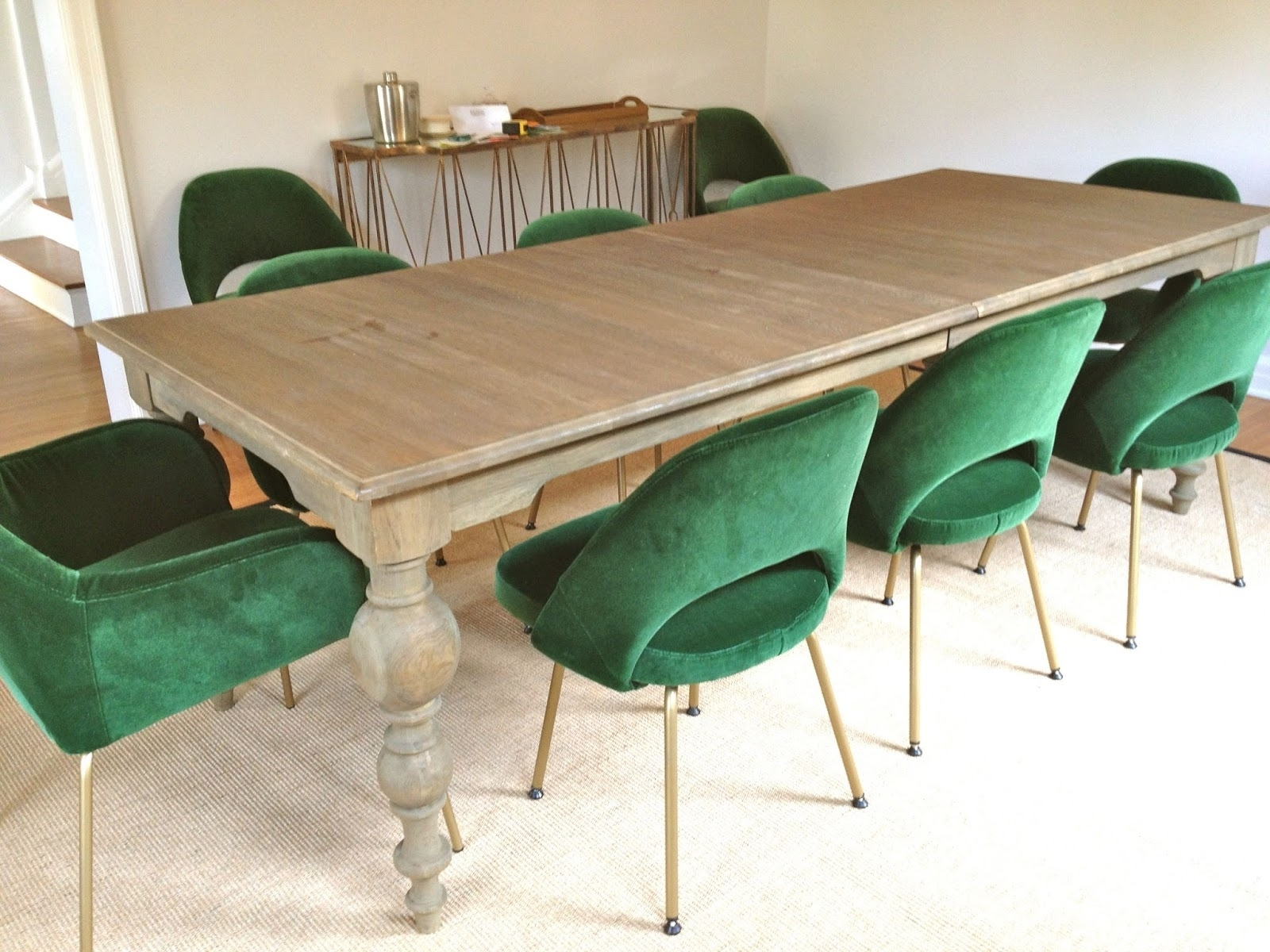 Green Dining Chairs Color — Frenchbroadbrewfest Homes : Perfect Idea Within Widely Used Green Dining Tables (View 6 of 25)