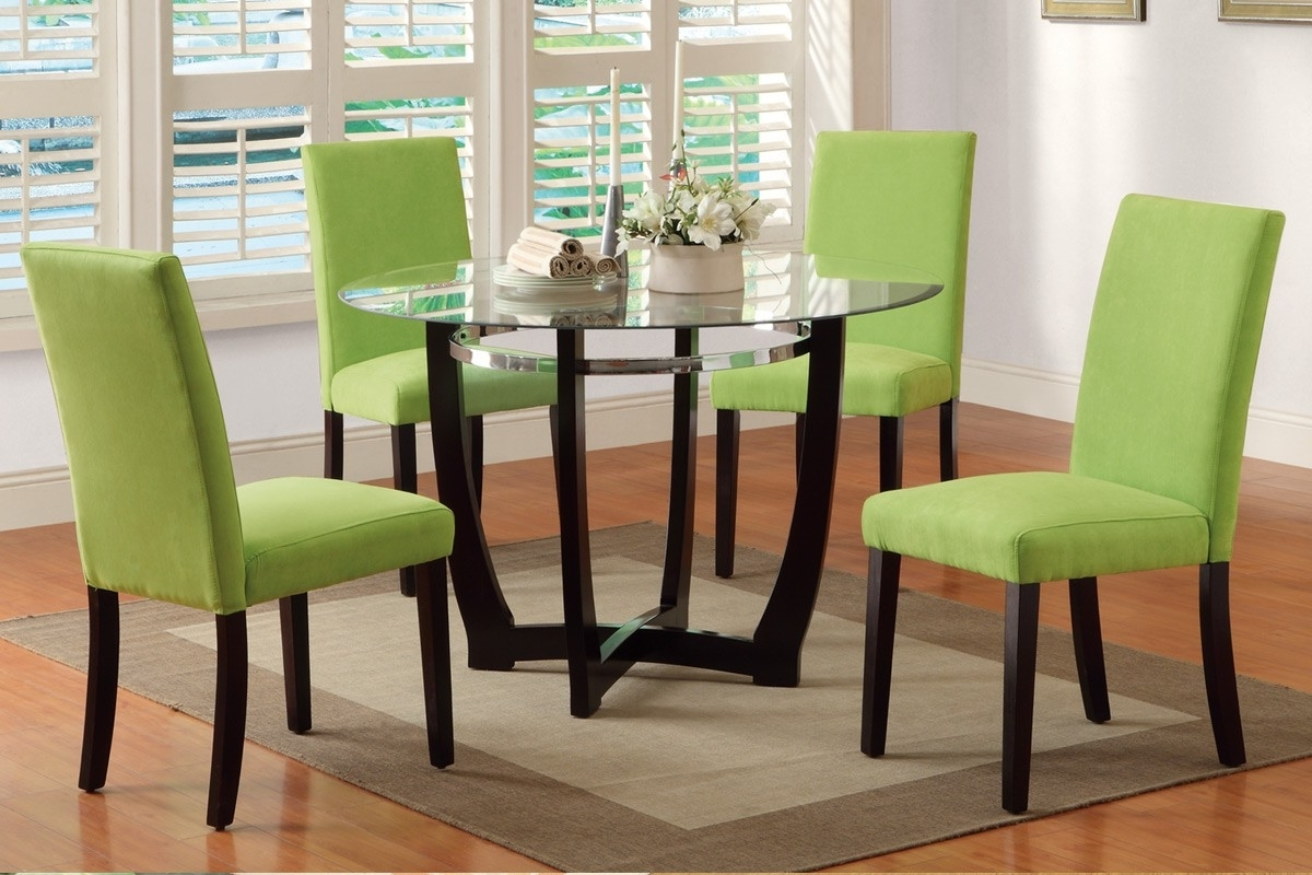 Green Dining Tables within Best and Newest Green Dining Room Furniture Beauteous Colorful Dining Tables