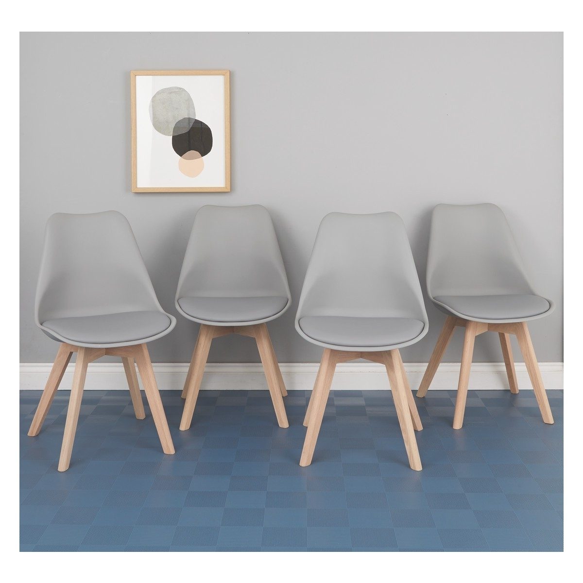 Featured Photo of Grey Dining Chairs