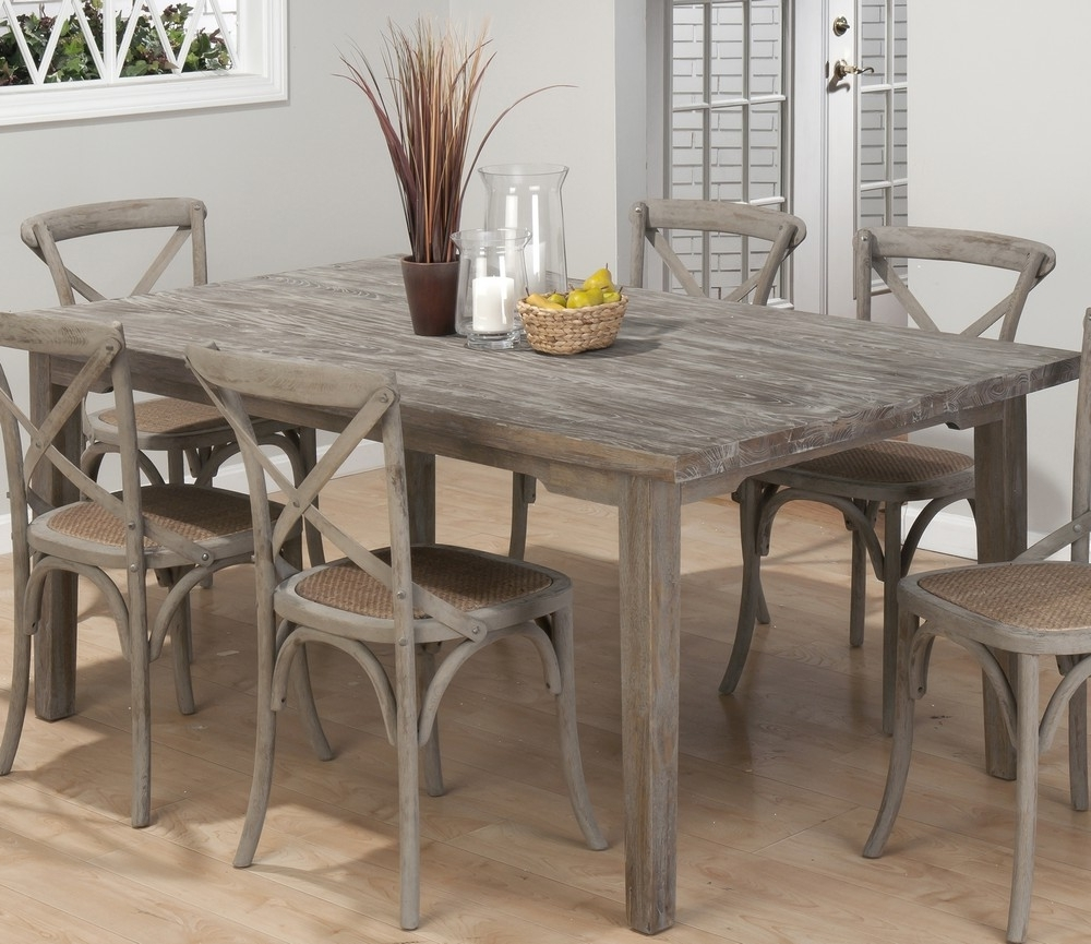 Grey Dining Room Furniture Interesting Grey Dining Room Furniture For Well Liked Dining Tables With Grey Chairs (Gallery 13 of 25)