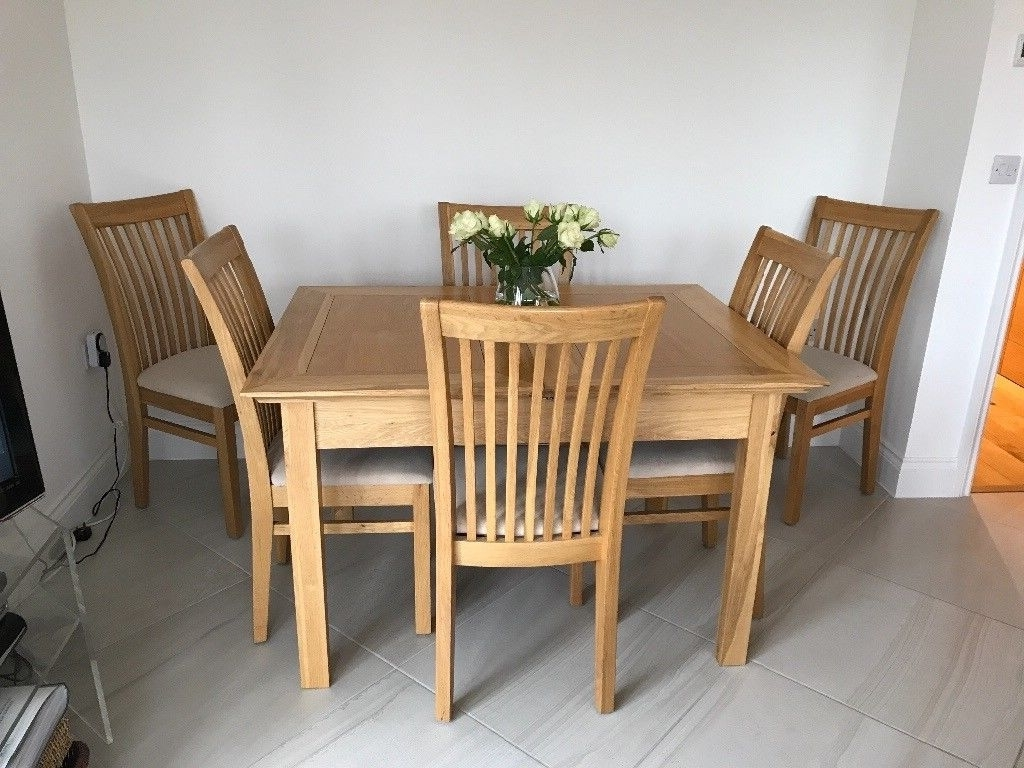 Gumtree Intended For Famous Cheap 6 Seater Dining Tables And Chairs (View 12 of 25)