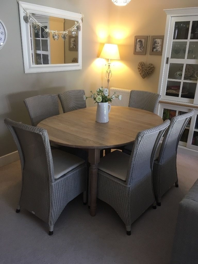 Gumtree With Regard To Widely Used Oval Extending Dining Tables And Chairs (Gallery 15 of 25)