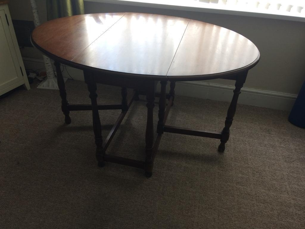 Gumtree within Widely used Large Folding Dining Tables