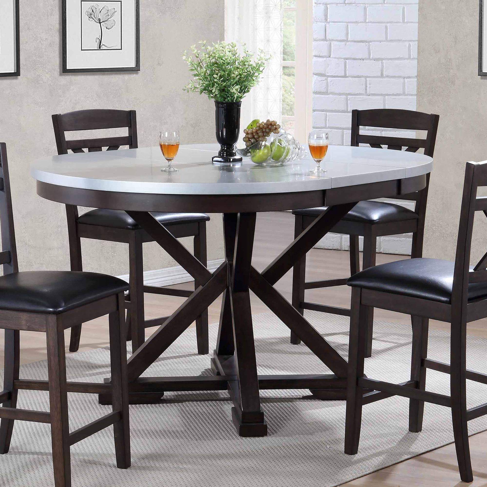 Hamilton Uv Counter Height Dining Table (Gallery 10 of 25)