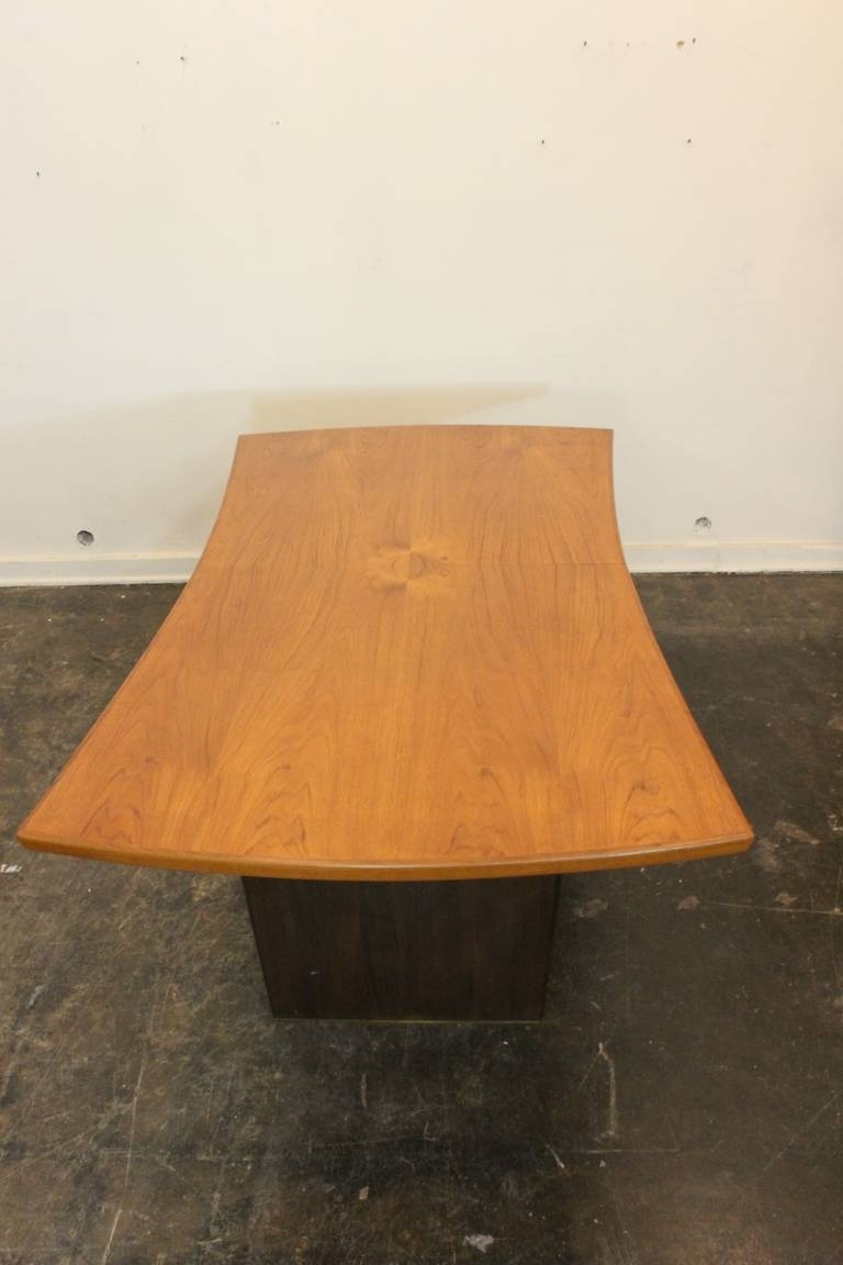 Harvey Dining Tables throughout Most Current Harvey Probber Bow Tie Dining Table For Sale At 1Stdibs