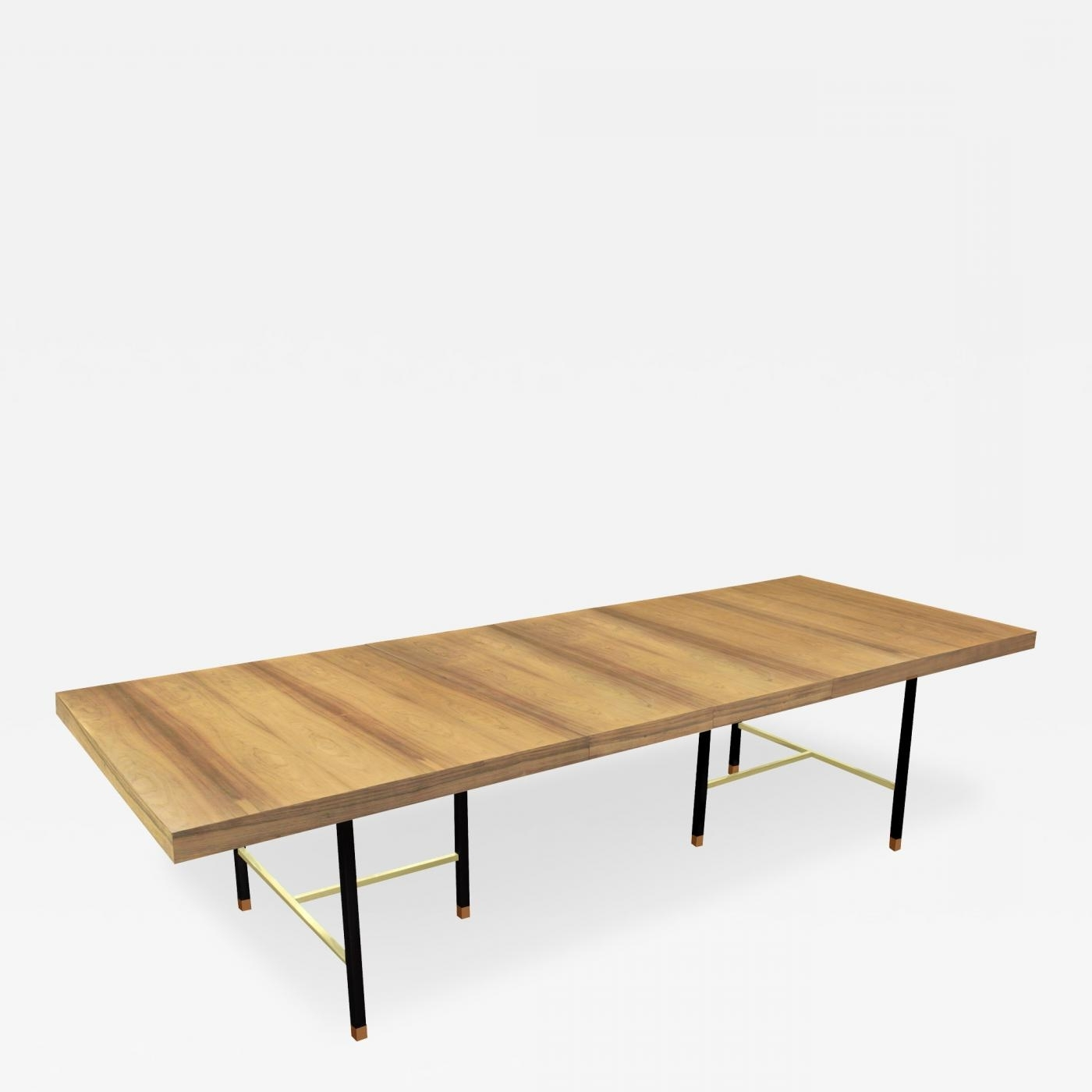 Harvey Probber – Extension Dining Table In Bleached Rosewood In Well Liked Harvey Dining Tables (View 4 of 25)