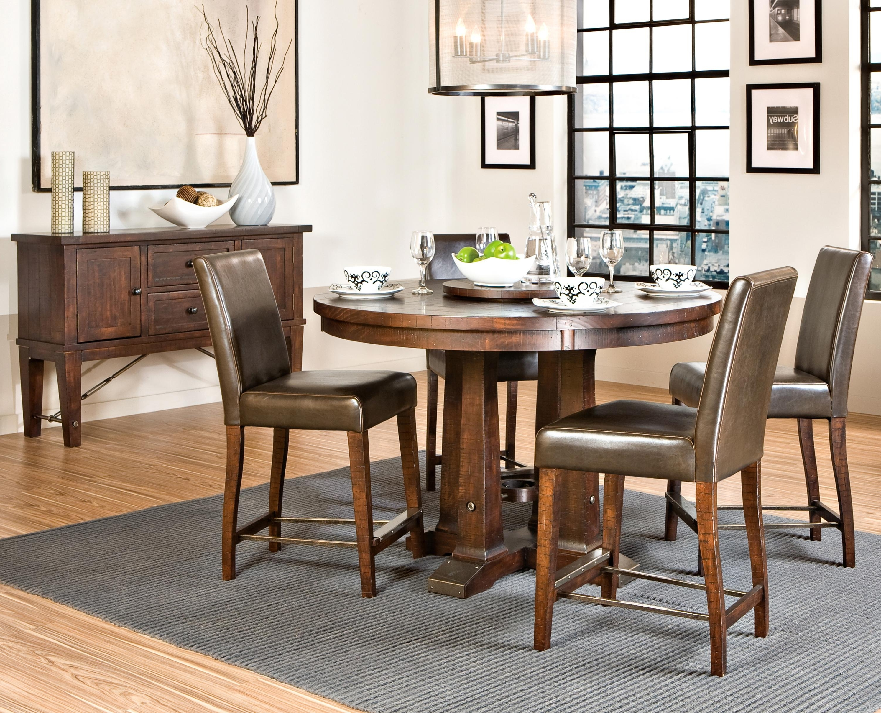Hayden Dining Tables For Trendy Intercon Hayden Trestle Dining Table With Metal Table Slides (View 6 of 25)
