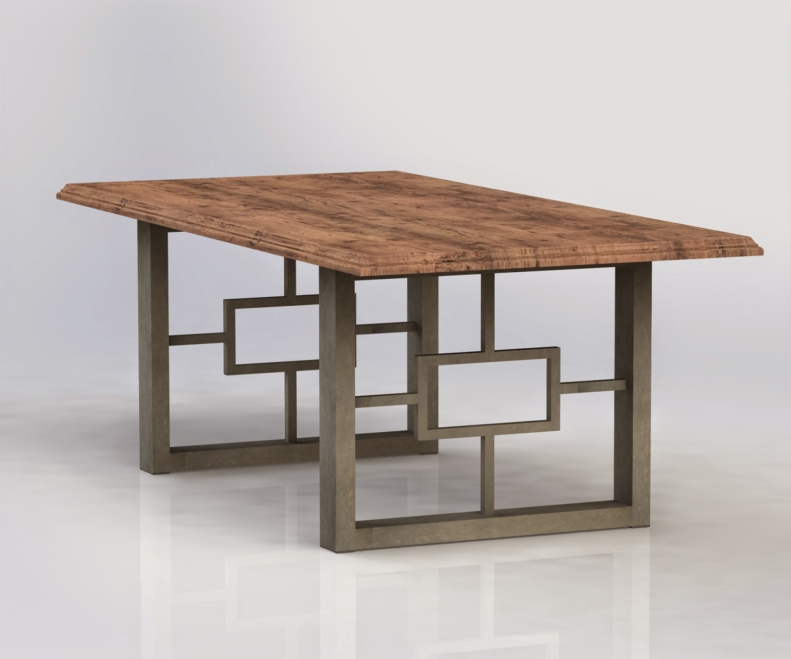 Hayden Dining Tables Regarding Preferred Urban Ironcraft : Hayden Metal Table Legs (View 12 of 25)