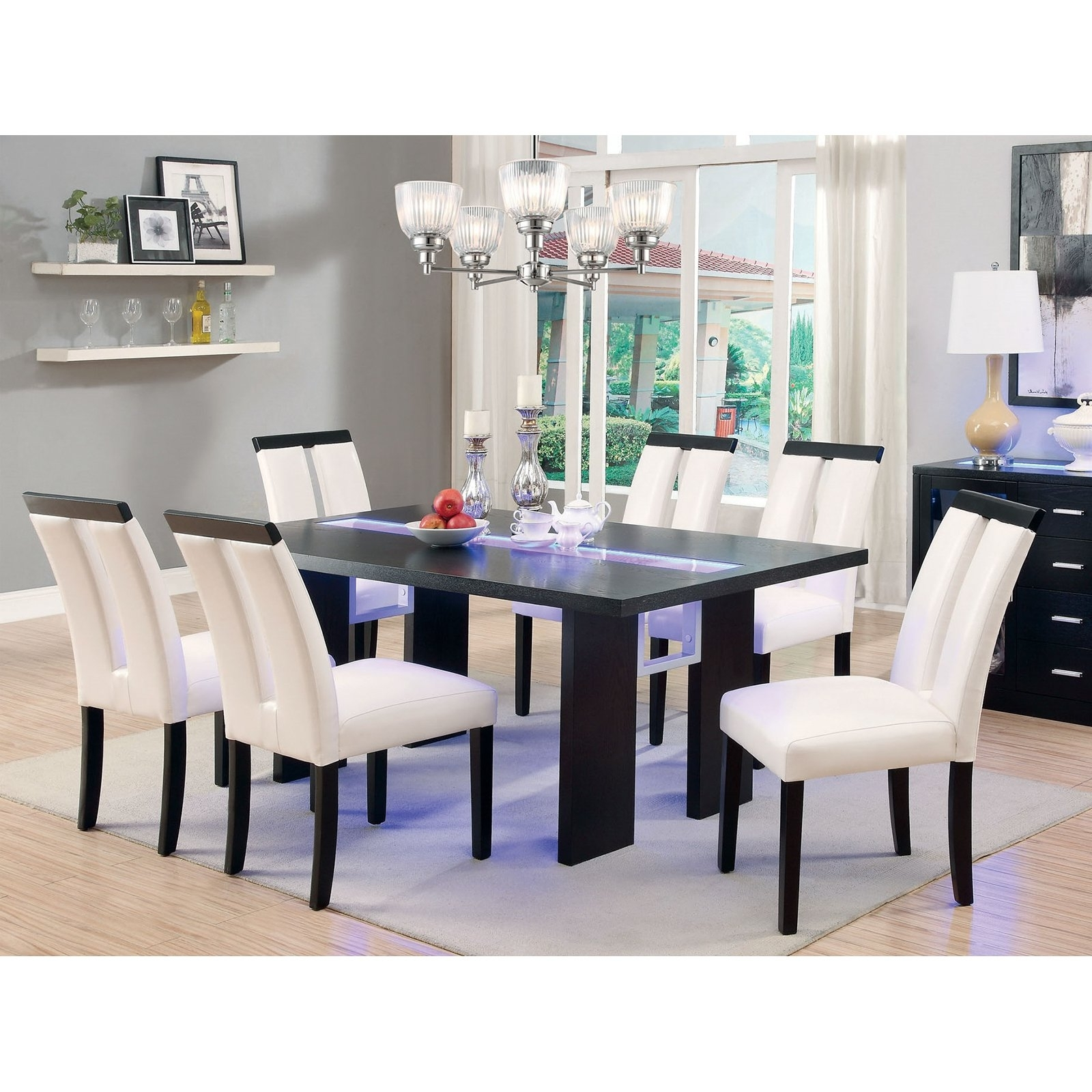 Hayneedle Pertaining To Dining Tables With Led Lights (View 11 of 25)