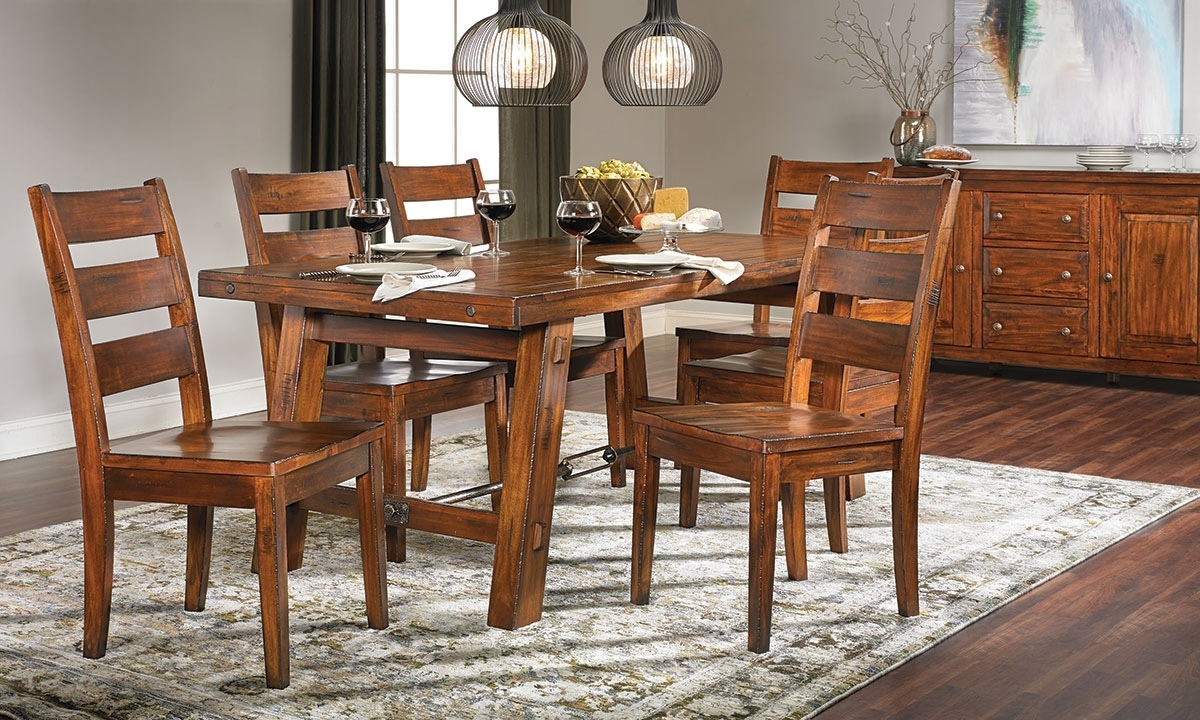 Haynes Furniture Regarding Mahogany Dining Tables And 4 Chairs (View 7 of 25)