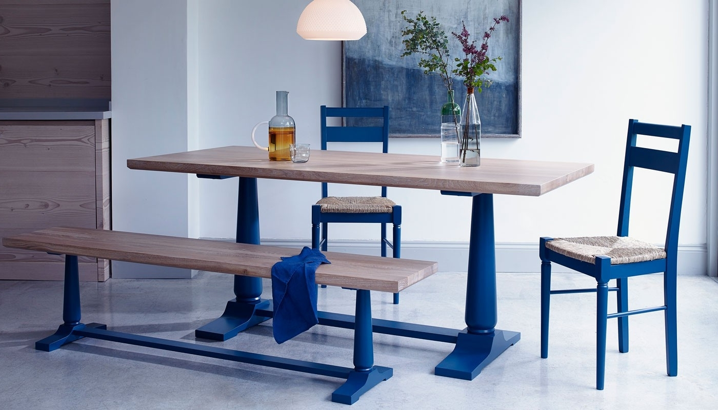 Heal's Within Most Up To Date Blue Dining Tables (View 5 of 25)