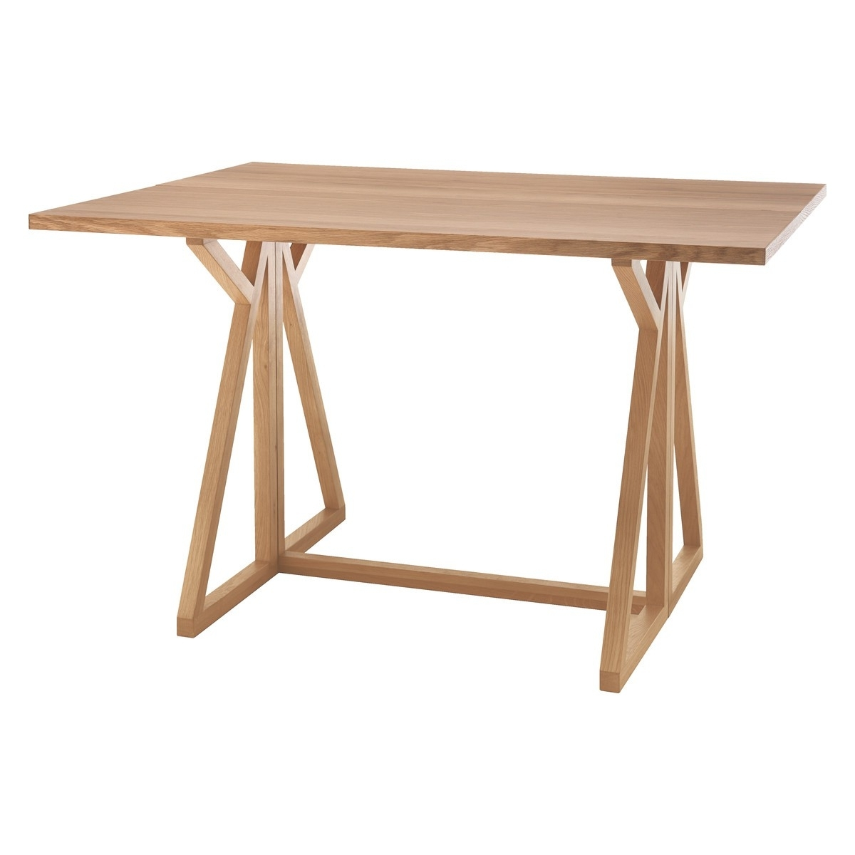Heath 2 4 Seat Oak Folding Dining Table (View 21 of 25)