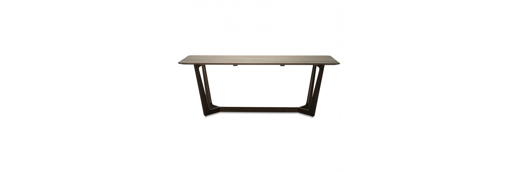 Helms Rectangle Dining Tables for Most Recently Released Siku Dining Table Seared Oak