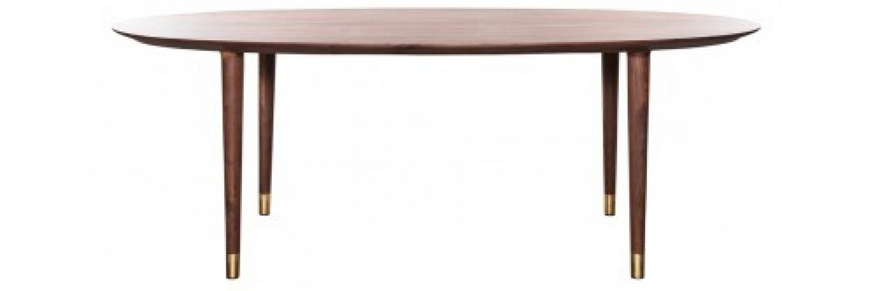 Helms Round Dining Tables For Latest Helga Walnut Dining Table (View 16 of 25)