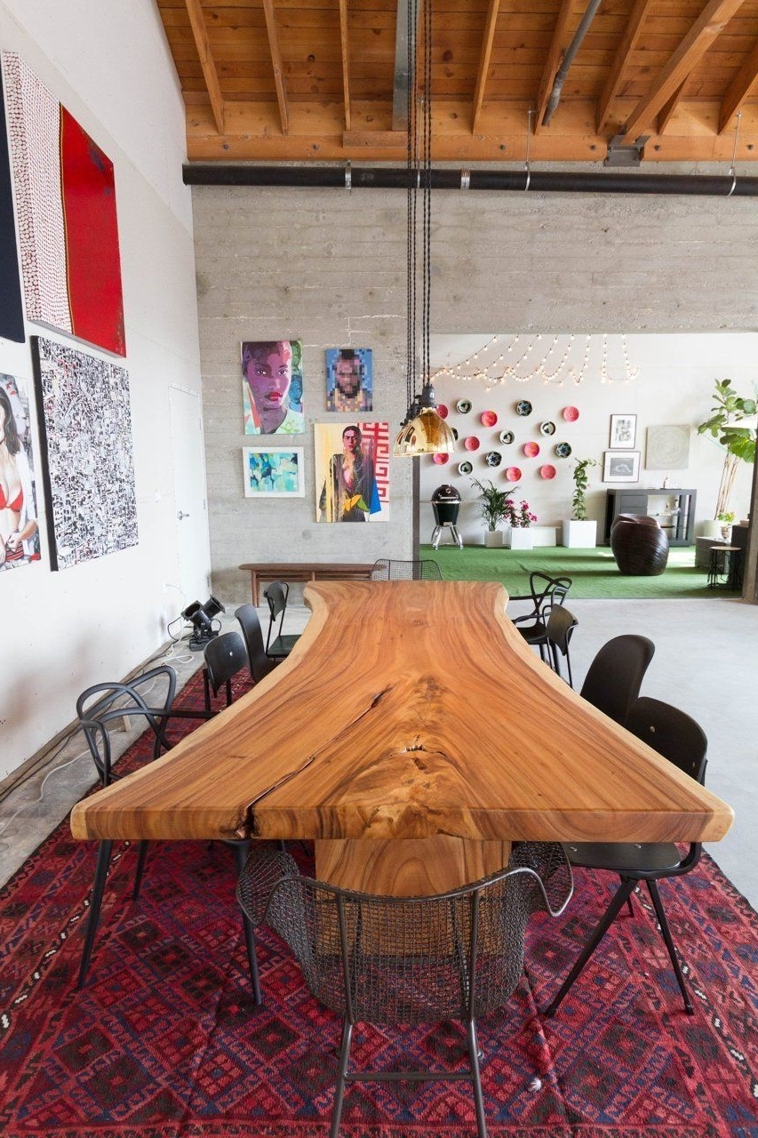 Helms Round Dining Tables With Widely Used A Tour Of Aphrochic's Stylish Show Home At Helms Bakery (View 17 of 25)