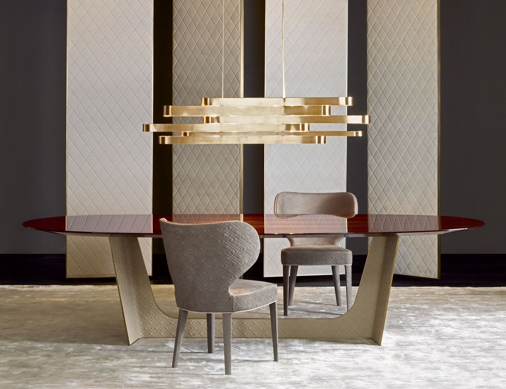 Hi Gloss Dining Tables Regarding Well Known Designer Italian Dining Tables & Luxury High End Dining Tables (View 24 of 25)