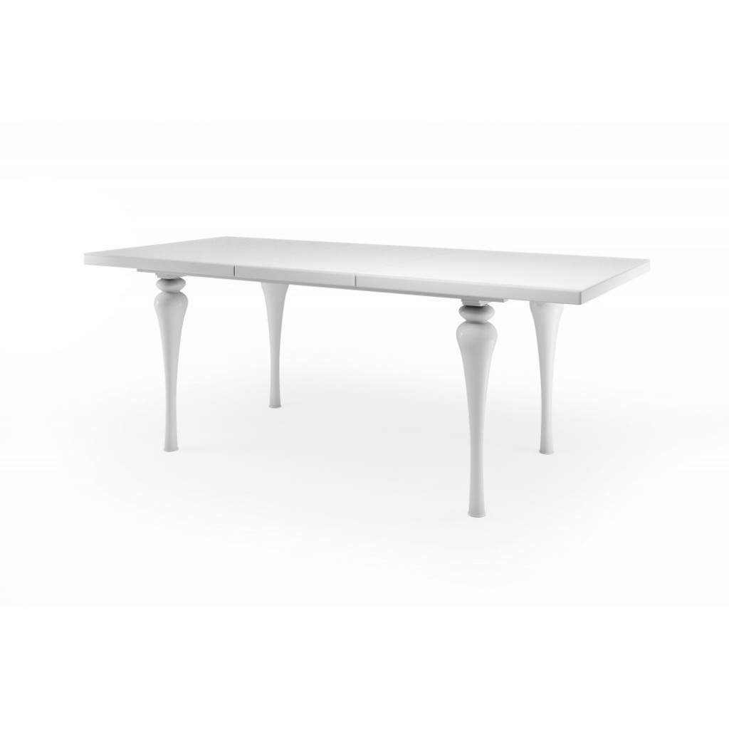 High Gloss Dining Furniture Pertaining To Recent Laurent White Gloss Dining Table – Gloss Furniture (Gallery 14 of 25)