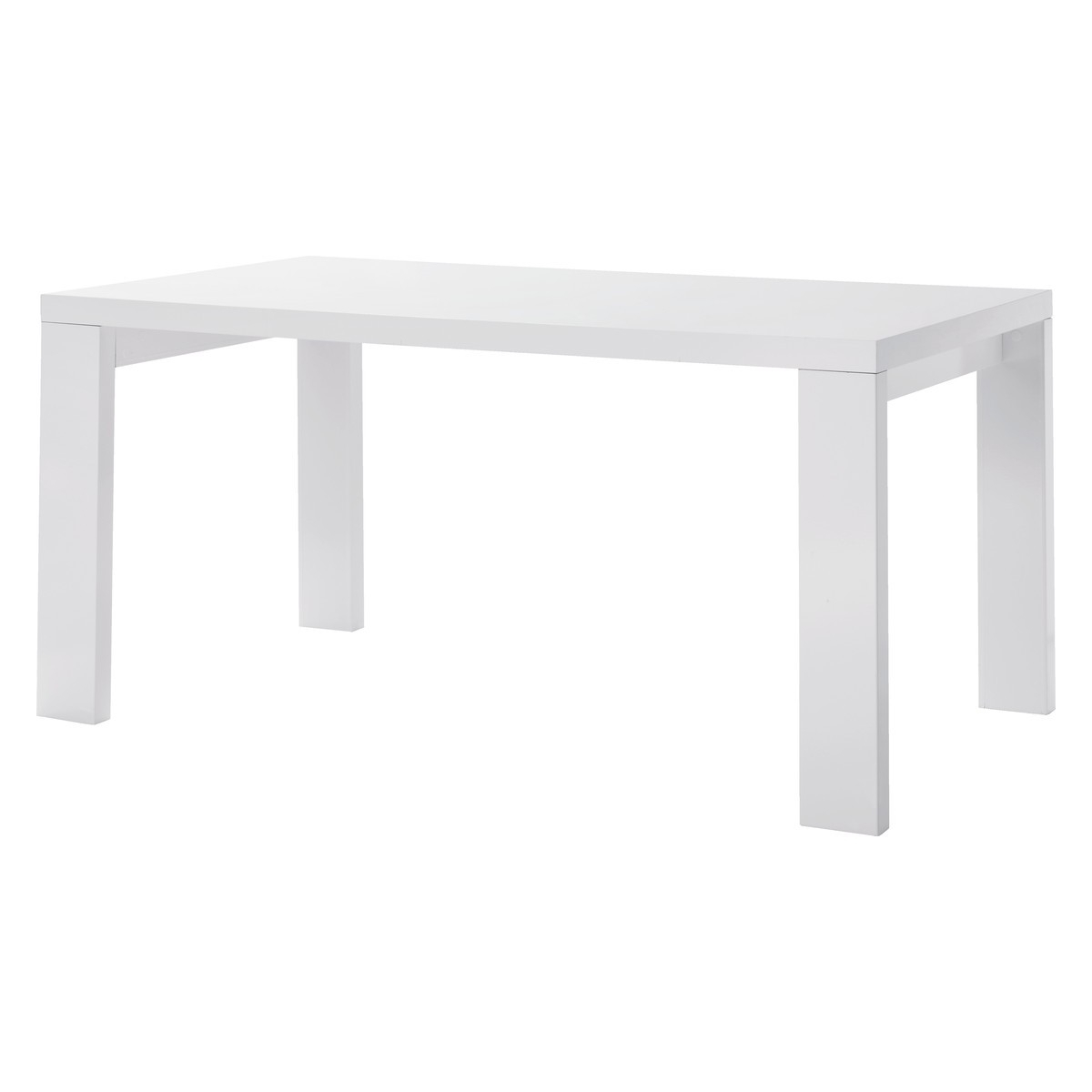 High Gloss Dining Tables Regarding Well Known Asper 6 Seat White High Gloss Dining Table (View 8 of 25)