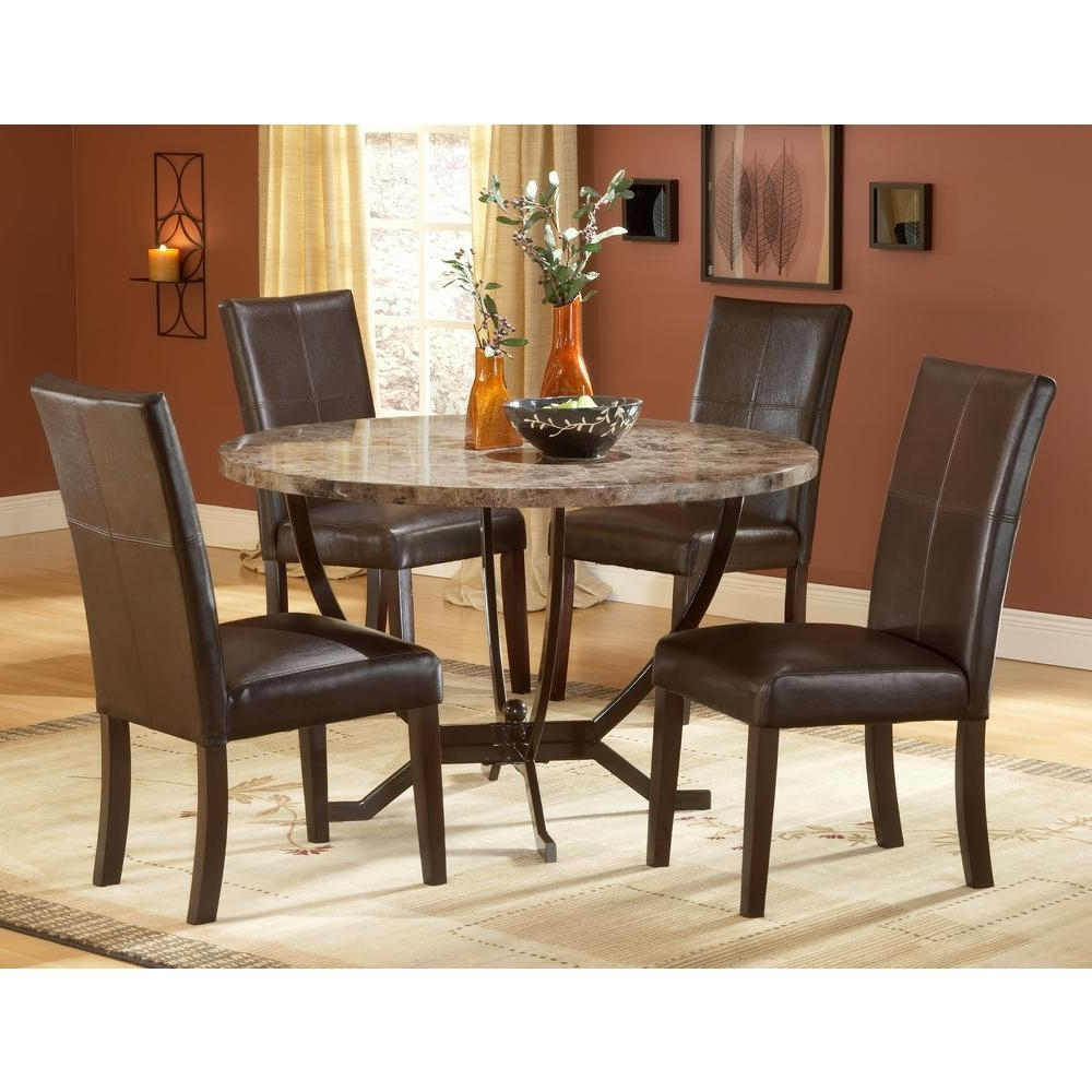 Hillsdale Furniture Monaco 5 Piece Matte Espresso Dining Set Regarding Most Recently Released Monaco Dining Sets (Gallery 3 of 25)