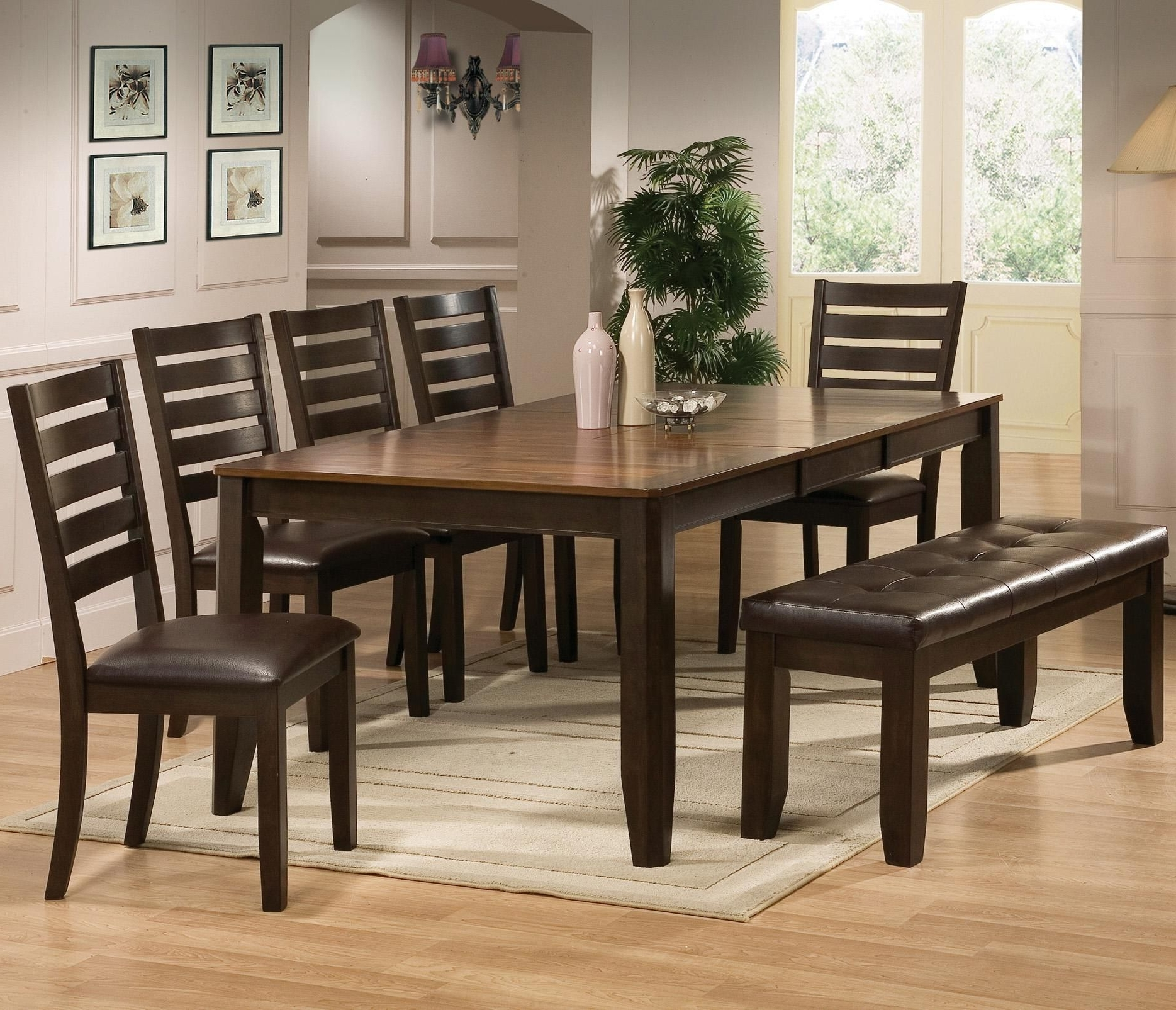 Home Decorating for Recent Market 6 Piece Dining Sets With Host And Side Chairs