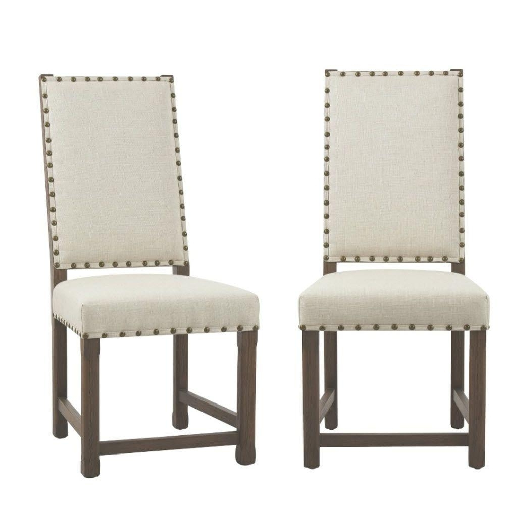 Home Decorators Collection Andrew Antique Grey Dining Chair (Set Of Within Well Liked Grey Dining Chairs (View 25 of 25)