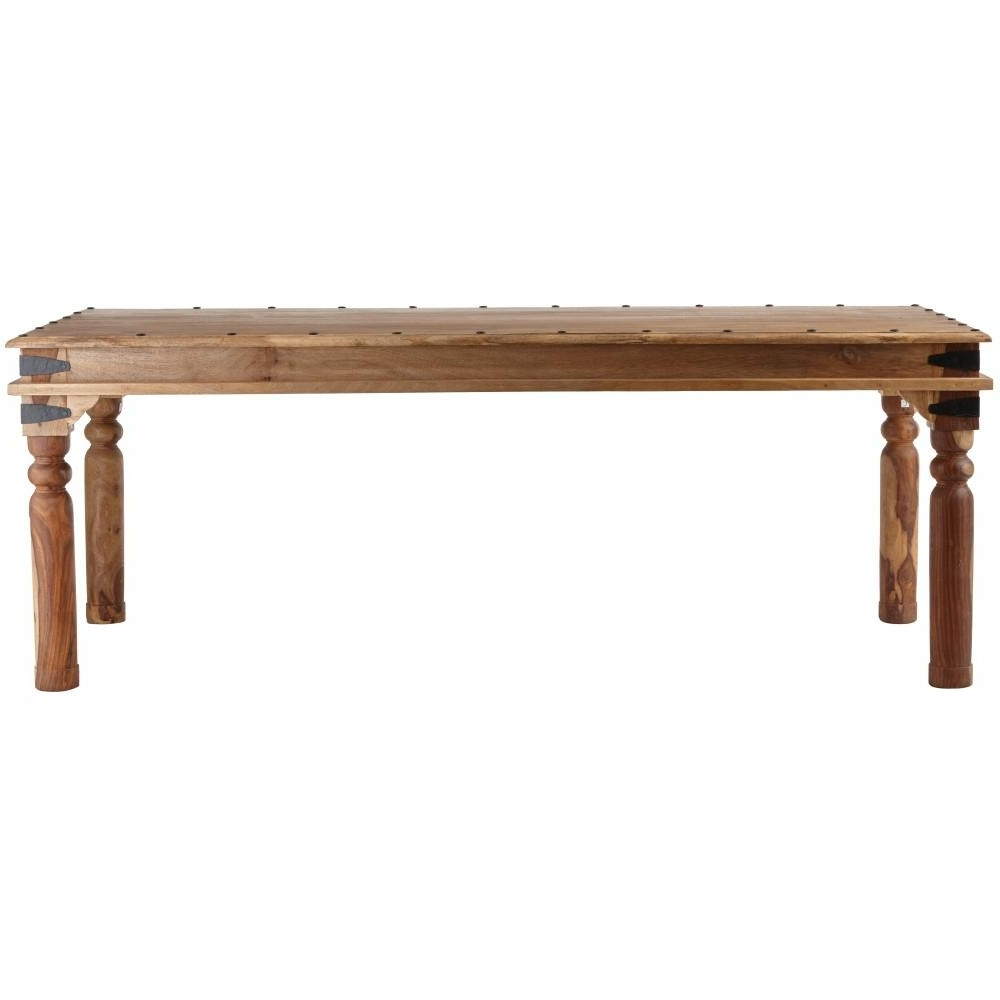 Home Decorators Collection Fields Weathered Brown Dining Table Intended For Most Current Palazzo Rectangle Dining Tables (Gallery 15 of 25)