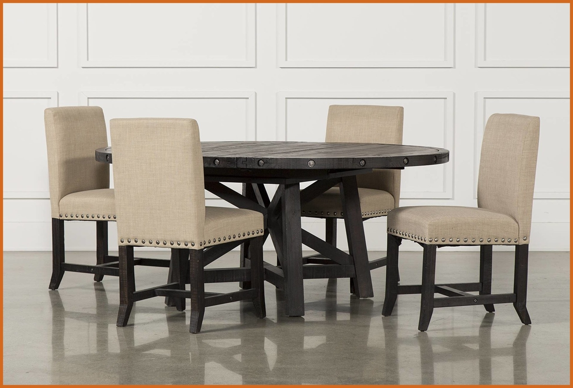 Home Design Decorating Ideas Within Preferred Jaxon Grey Round Extension Dining Tables (View 15 of 25)