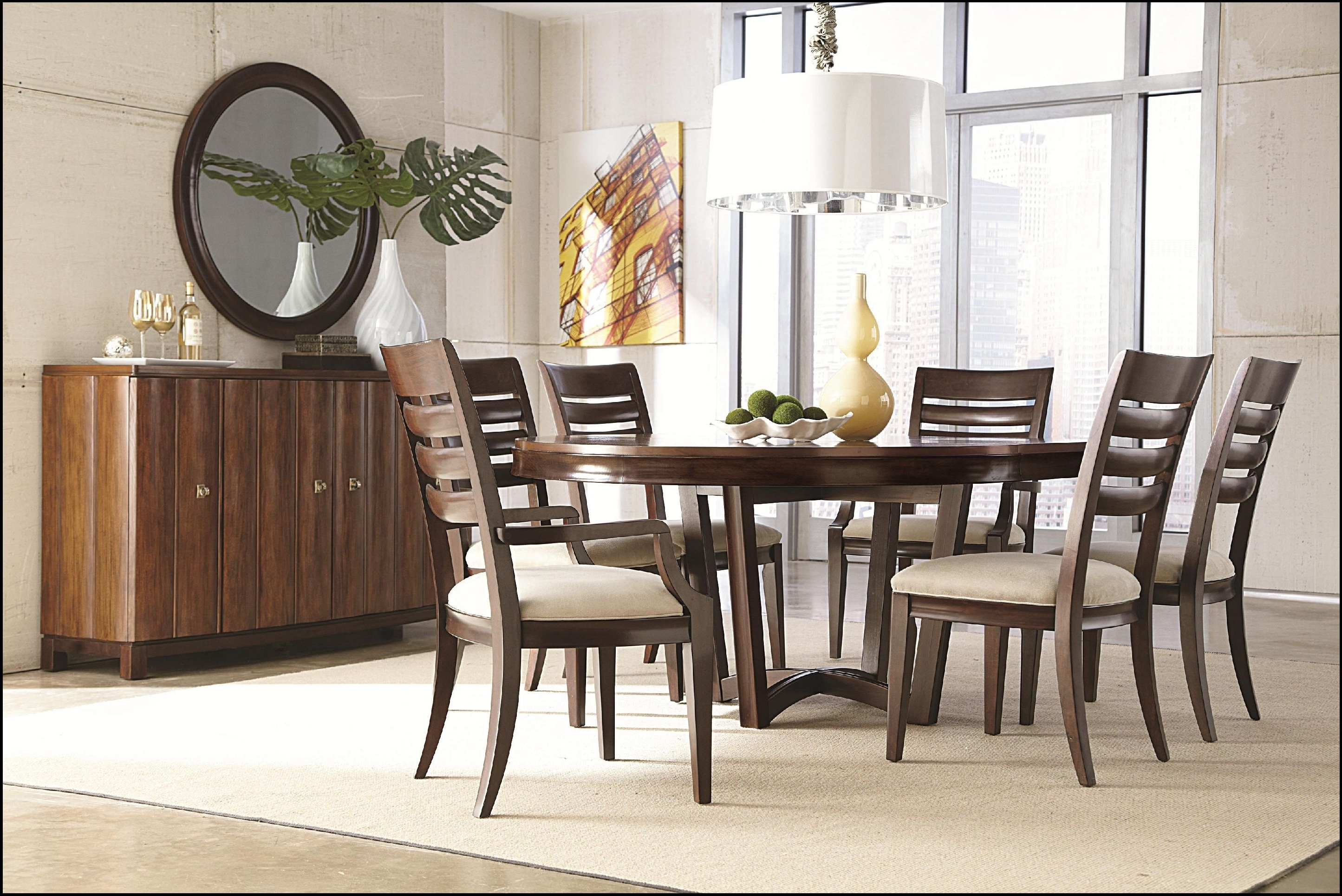 Home Design Ideas Inside 6 Seater Round Dining Tables (Gallery 9 of 25)