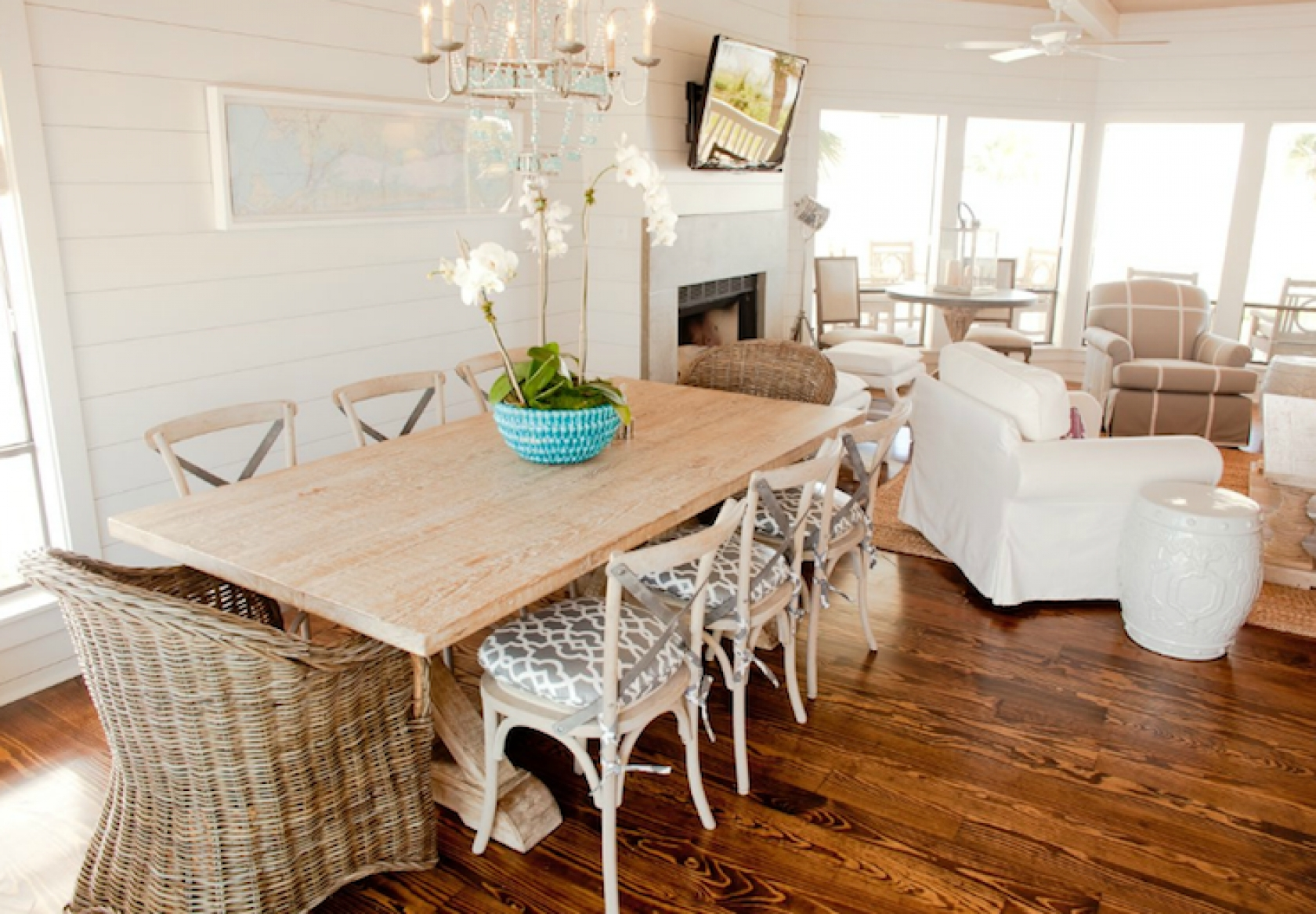 Home Design With Regard To Coastal Dining Tables (View 5 of 25)