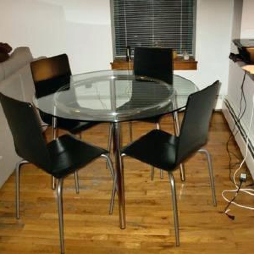 Home Interior Designs Throughout Ikea Round Glass Top Dining Tables (View 6 of 25)