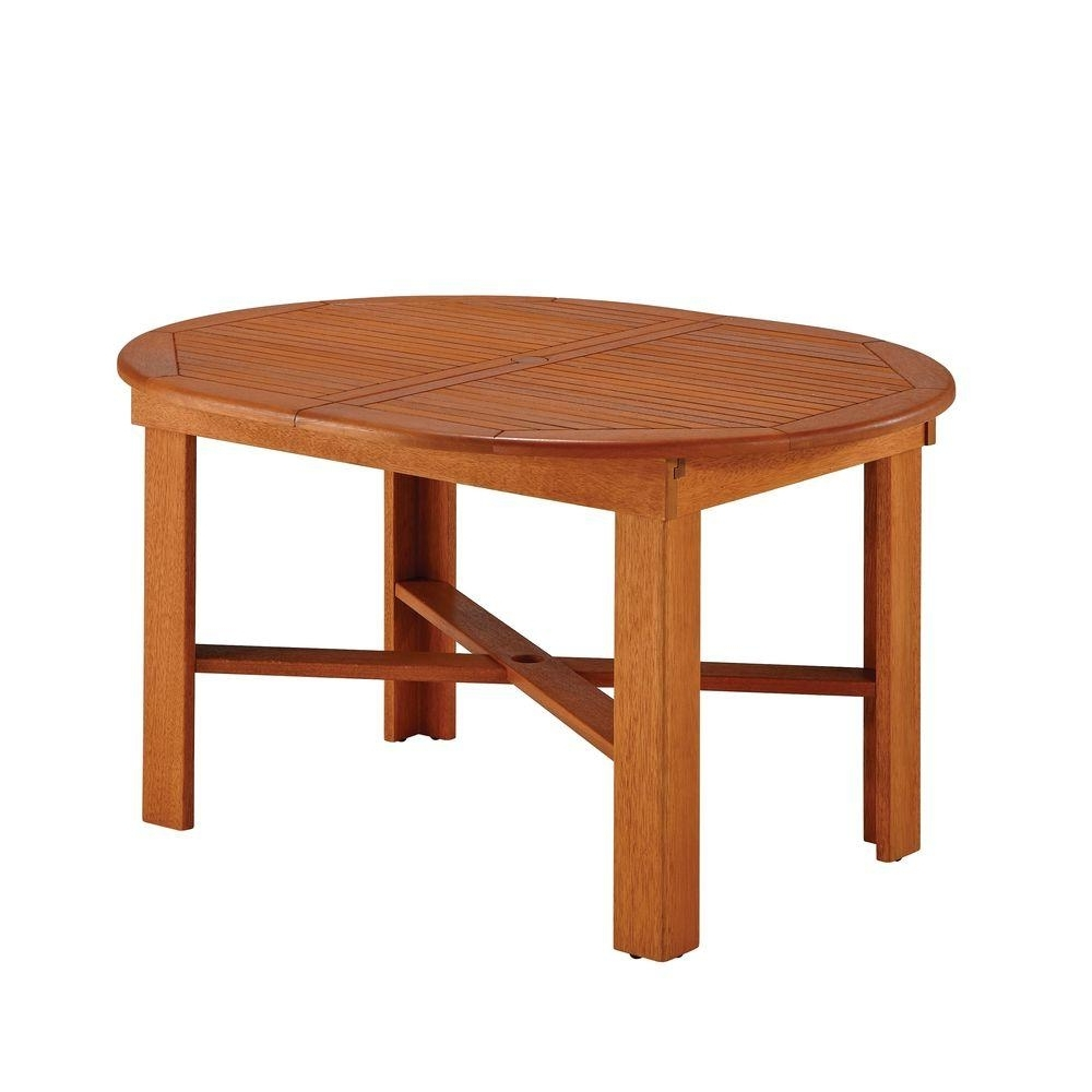 Home Styles Bali Hai Outdoor Oval Patio Dining Table-5660-30 - The pertaining to Fashionable Bali Dining Tables