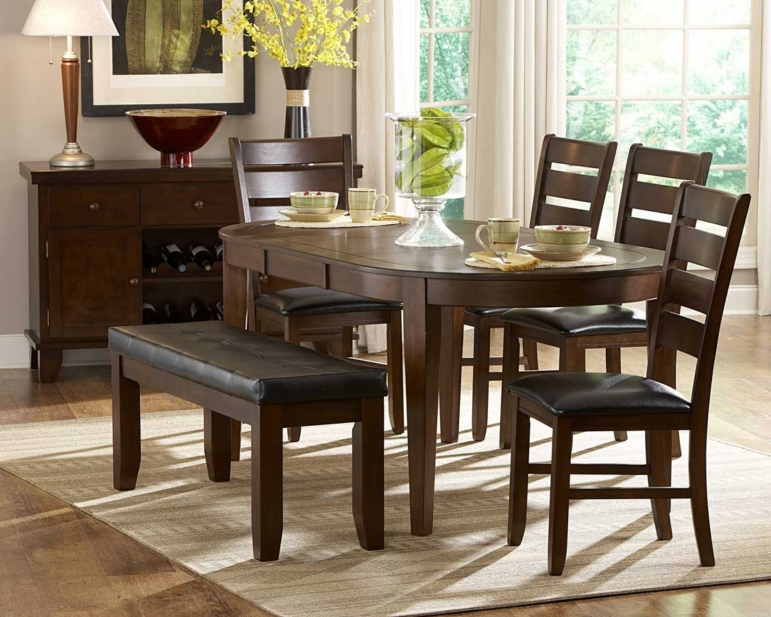 Homelegance Ameillia Oval Dining Set D586 76 Set Throughout Latest Logan 6 Piece Dining Sets (Gallery 23 of 25)