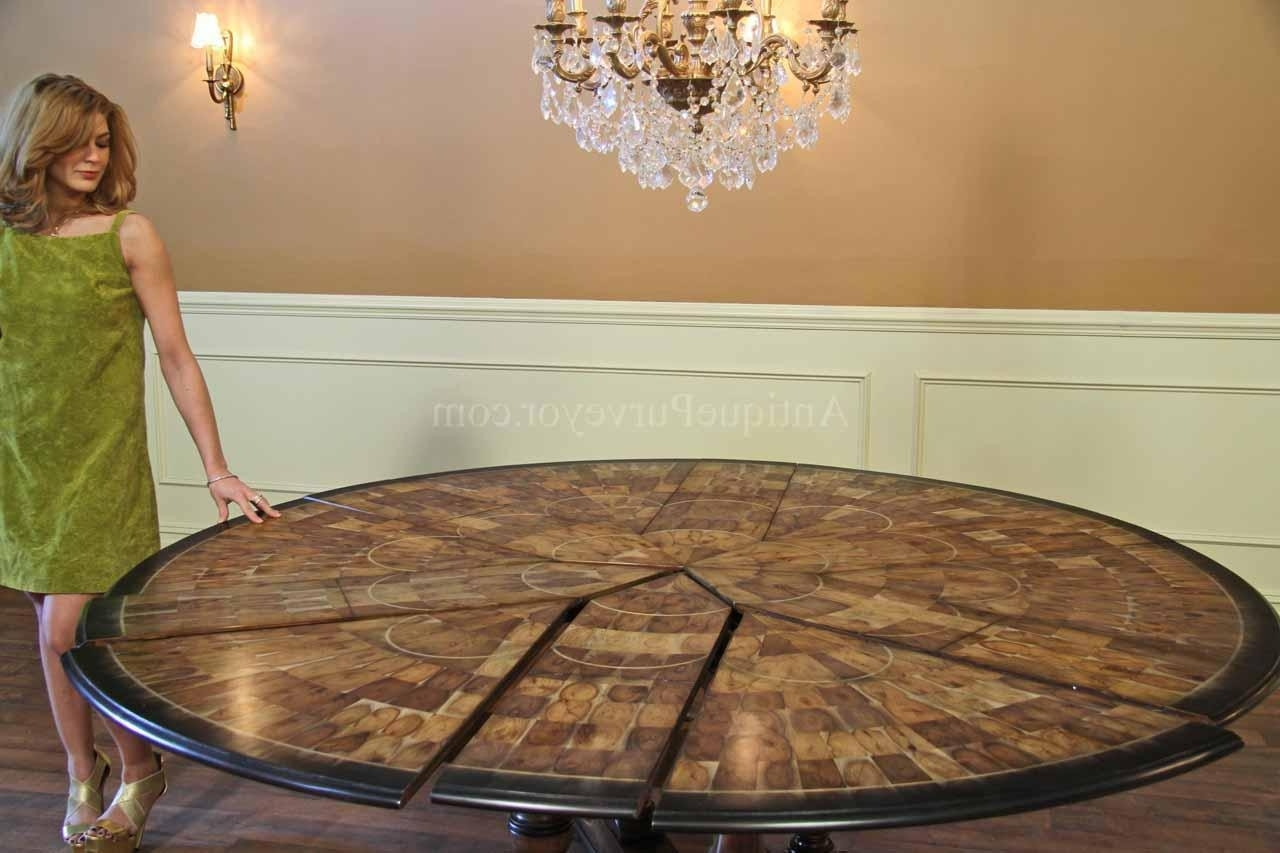 Homesfeed Intended For Huge Round Dining Tables (Gallery 18 of 25)