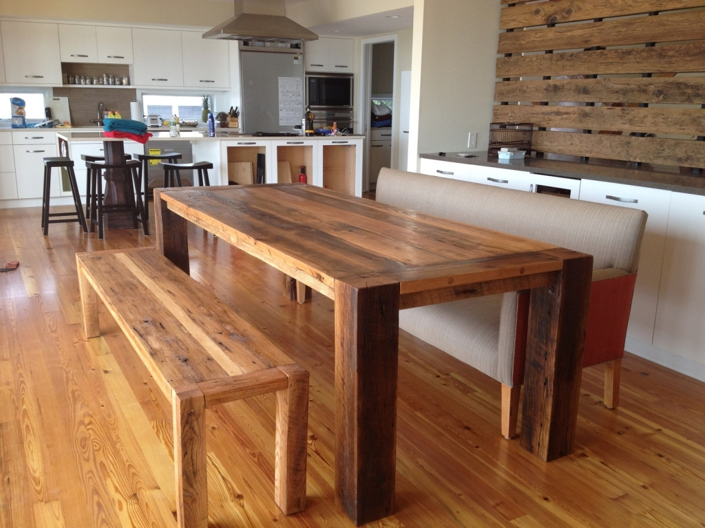 Homesfeed Throughout Best And Newest Solid Wood Dining Tables (View 9 of 25)