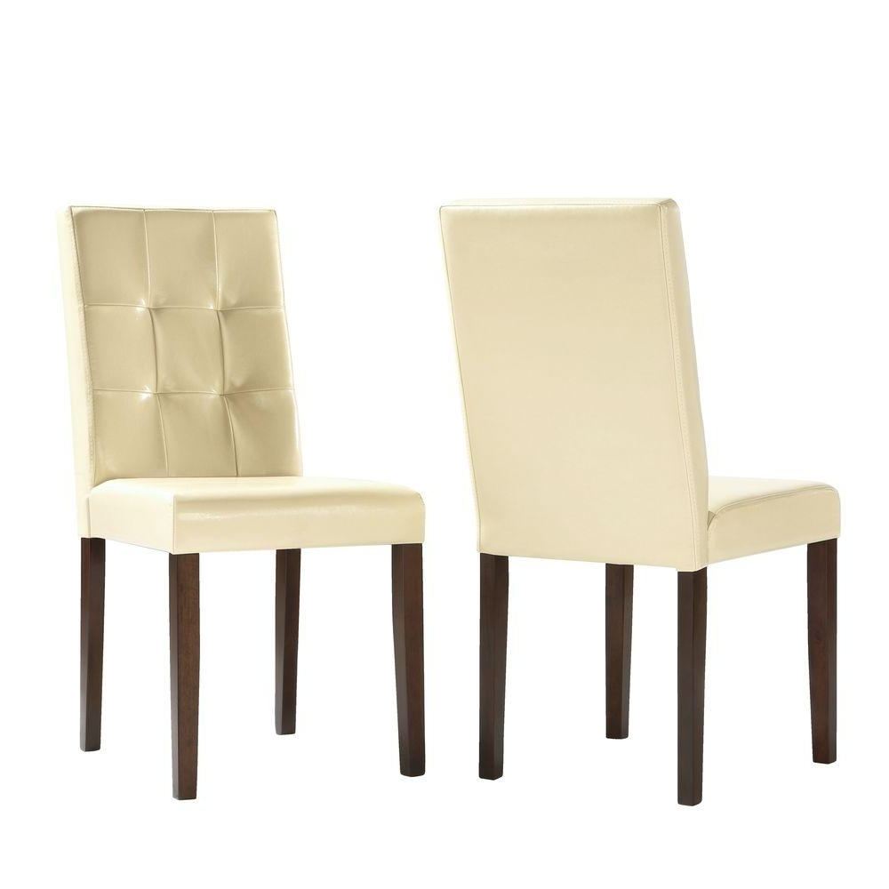 [%Homesullivan Braemar Faux Leather Dining Chair In Ivory 5039S[2Pc Intended For Newest Ivory Leather Dining Chairs|Ivory Leather Dining Chairs Pertaining To Famous Homesullivan Braemar Faux Leather Dining Chair In Ivory 5039S[2Pc|Newest Ivory Leather Dining Chairs Regarding Homesullivan Braemar Faux Leather Dining Chair In Ivory 5039S[2Pc|Favorite Homesullivan Braemar Faux Leather Dining Chair In Ivory 5039S[2Pc In Ivory Leather Dining Chairs%] (View 14 of 25)