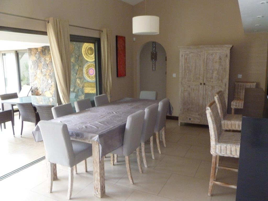 Hospitality : Whitewash Solid Wood Bali Furniture Style Dining Room pertaining to Widely used Bali Dining Sets
