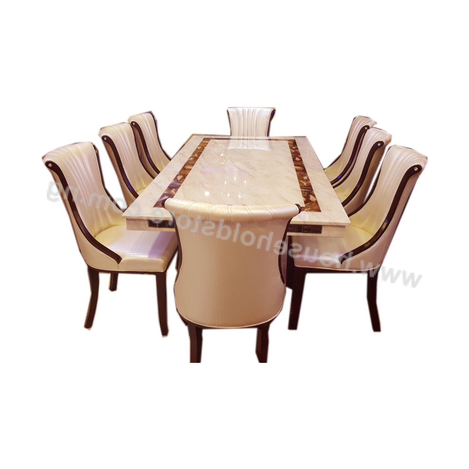 Household Store: Online Shopping In Most Popular Marble Dining Tables Sets (Gallery 24 of 25)