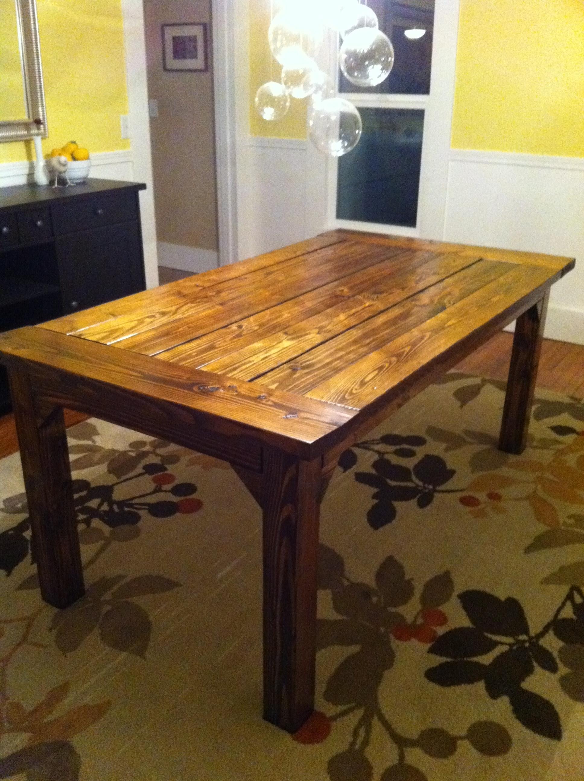 How To Build A Farmhouse Table (View 8 of 25)