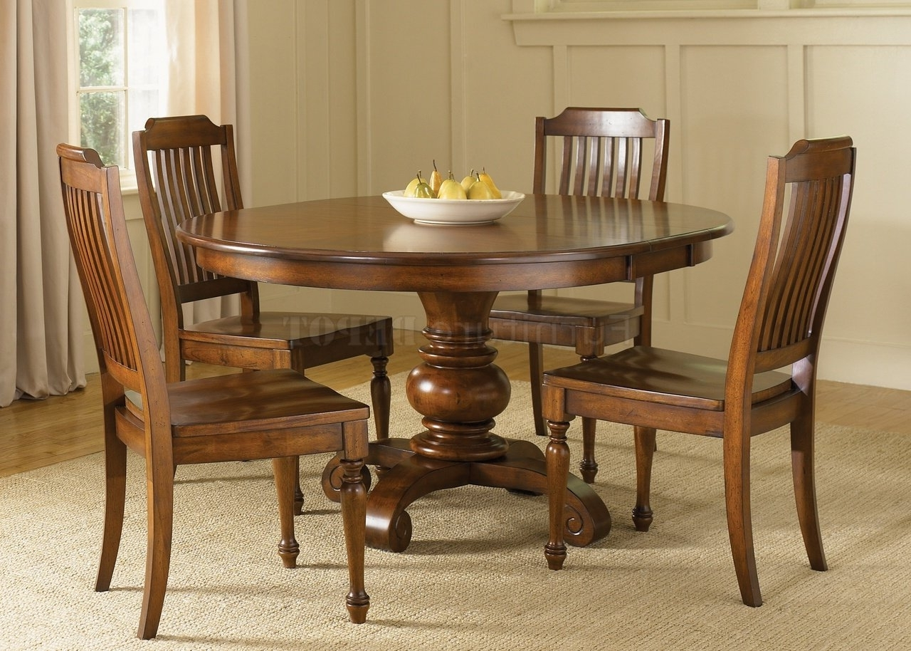 How To Find Best Circle Dining Table Set - Home Decor Ideas pertaining to Well known Circle Dining Tables