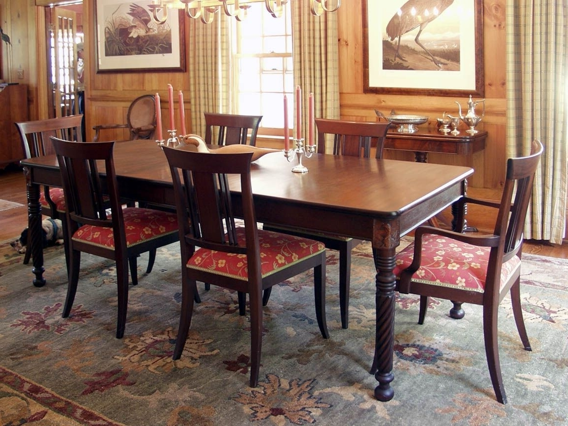 Featured Photo of Mahogany Dining Table Sets