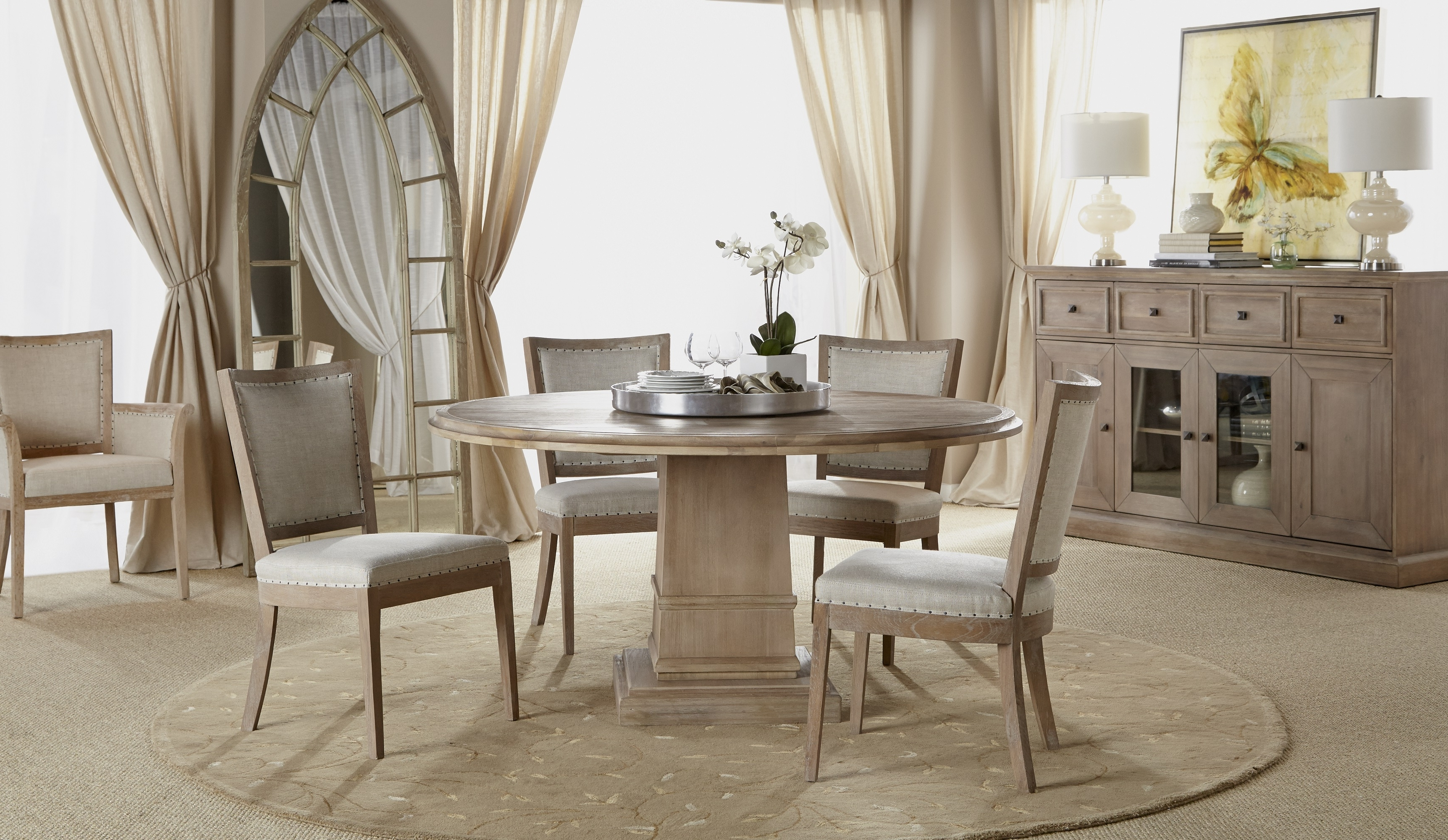 """Hudson 54"""" Round Dining Table for Most Up-to-Date Hudson Round Dining Tables"""