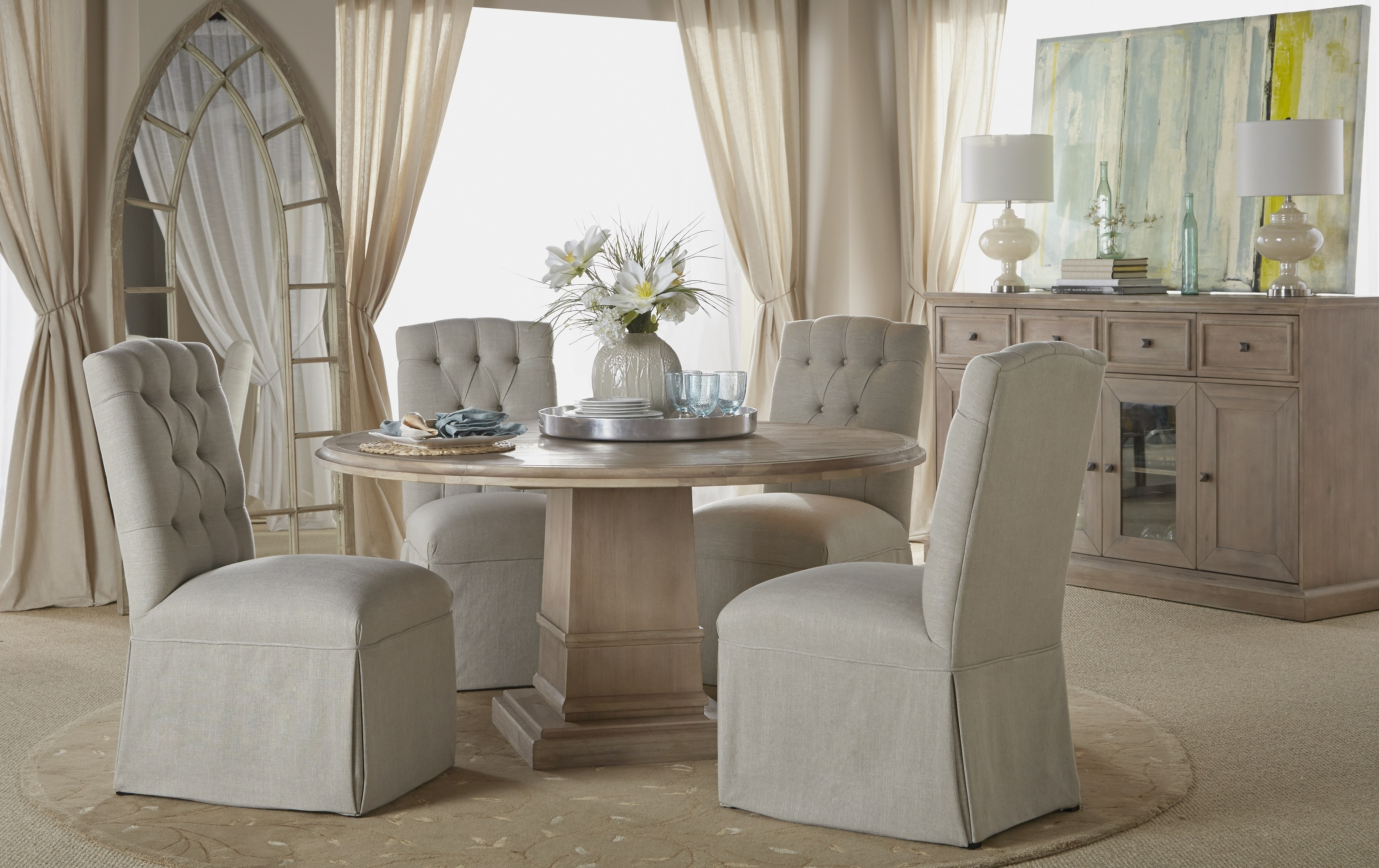 """Hudson 54"""" Round Dining Table Pertaining To Most Recent Hudson Round Dining Tables (View 8 of 25)"""