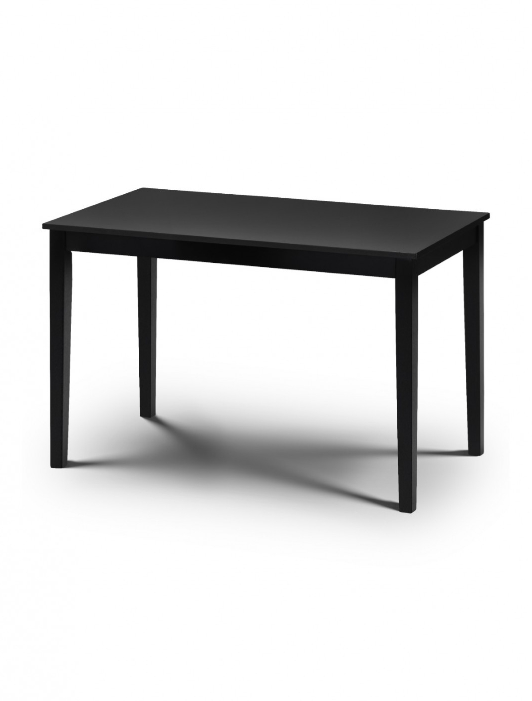 Hudson Black Dining Table And 4 Dining Chairs Hud (View 7 of 25)