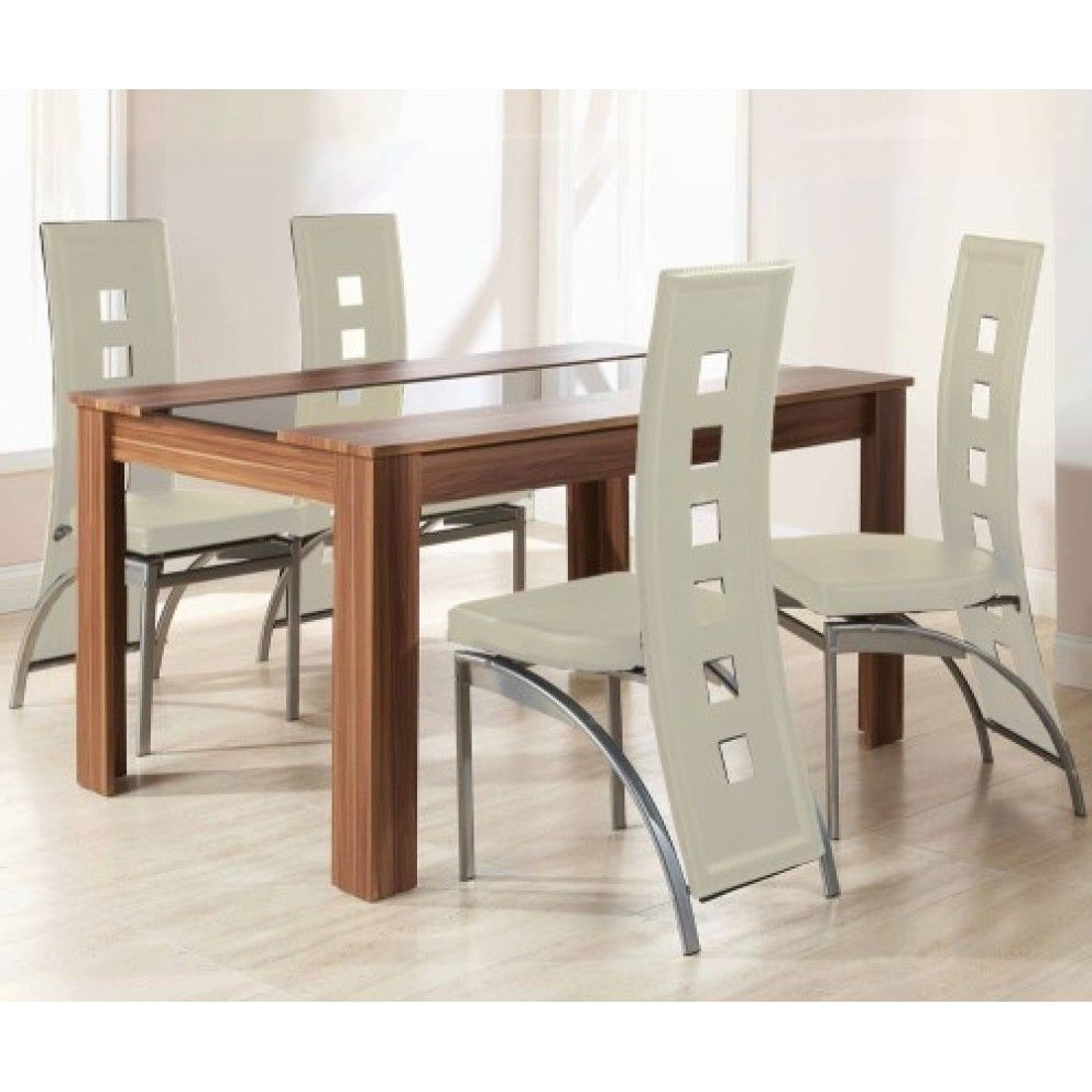 Hudson Dining Tables And Chairs inside Most Recent Mountrose Hudson Dining Table And Four Chairs Set From £249.99 With