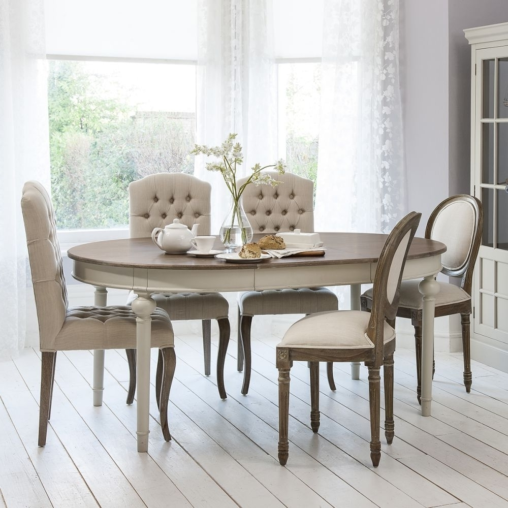 Hudson Round Dining Tables with Well known Maison Round Ext Table Cool Grey 5055299491232 - Aspire Design