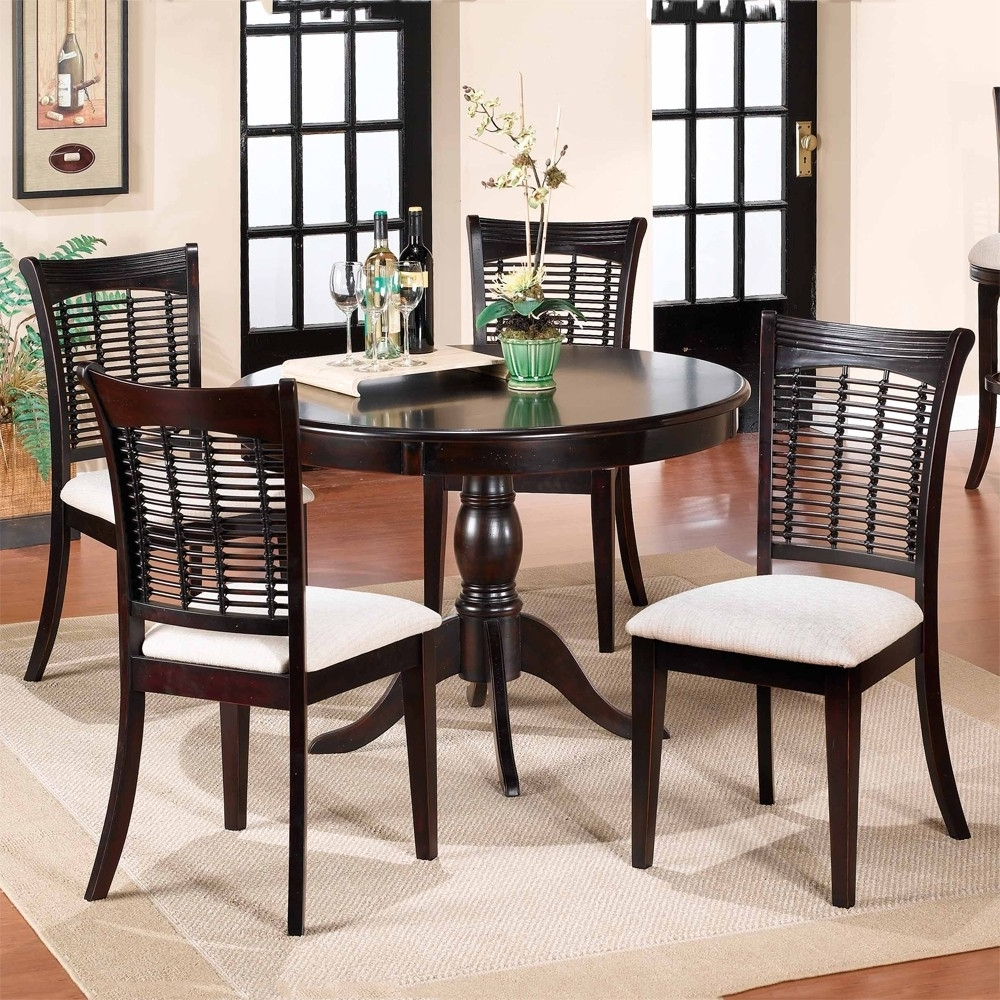 Humble Abode Regarding 2017 Dark Wood Dining Tables And Chairs (View 24 of 25)