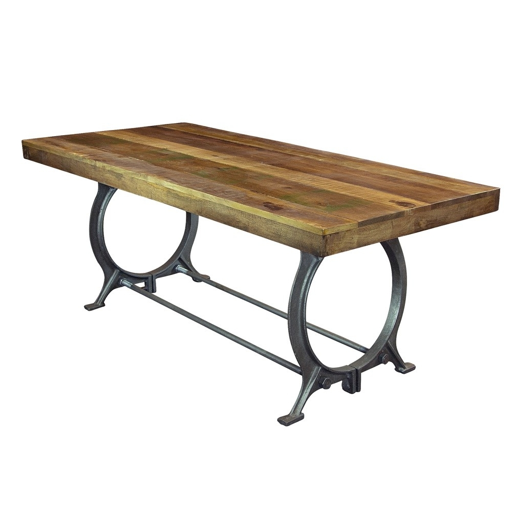 Humble Abode with regard to Mango Wood/iron Dining Tables