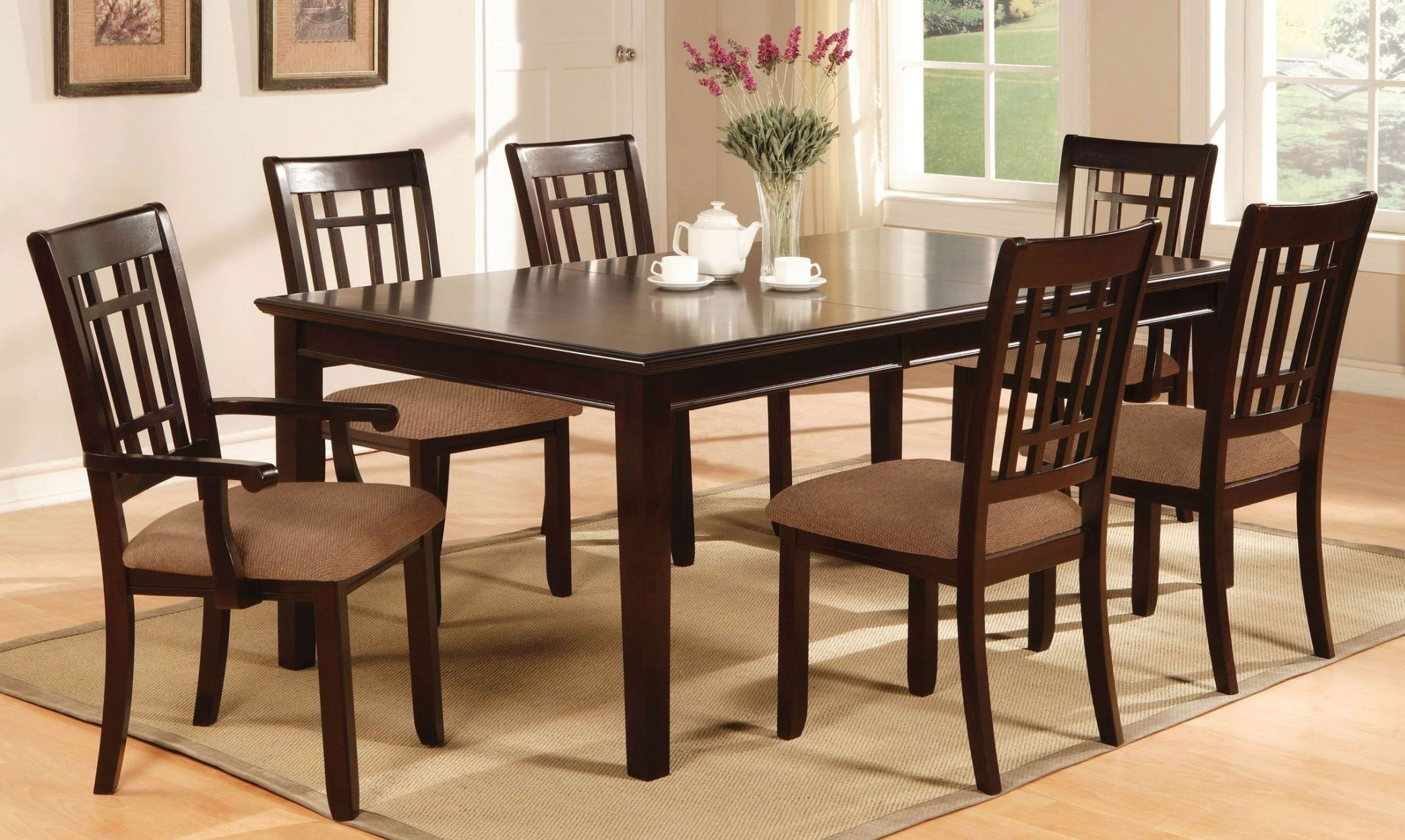 Hyland 5 Piece Counter Sets With Stools In Popular Hyland 5 Pcs Casual Dining Set From Ashley (D258 225) (View 11 of 25)