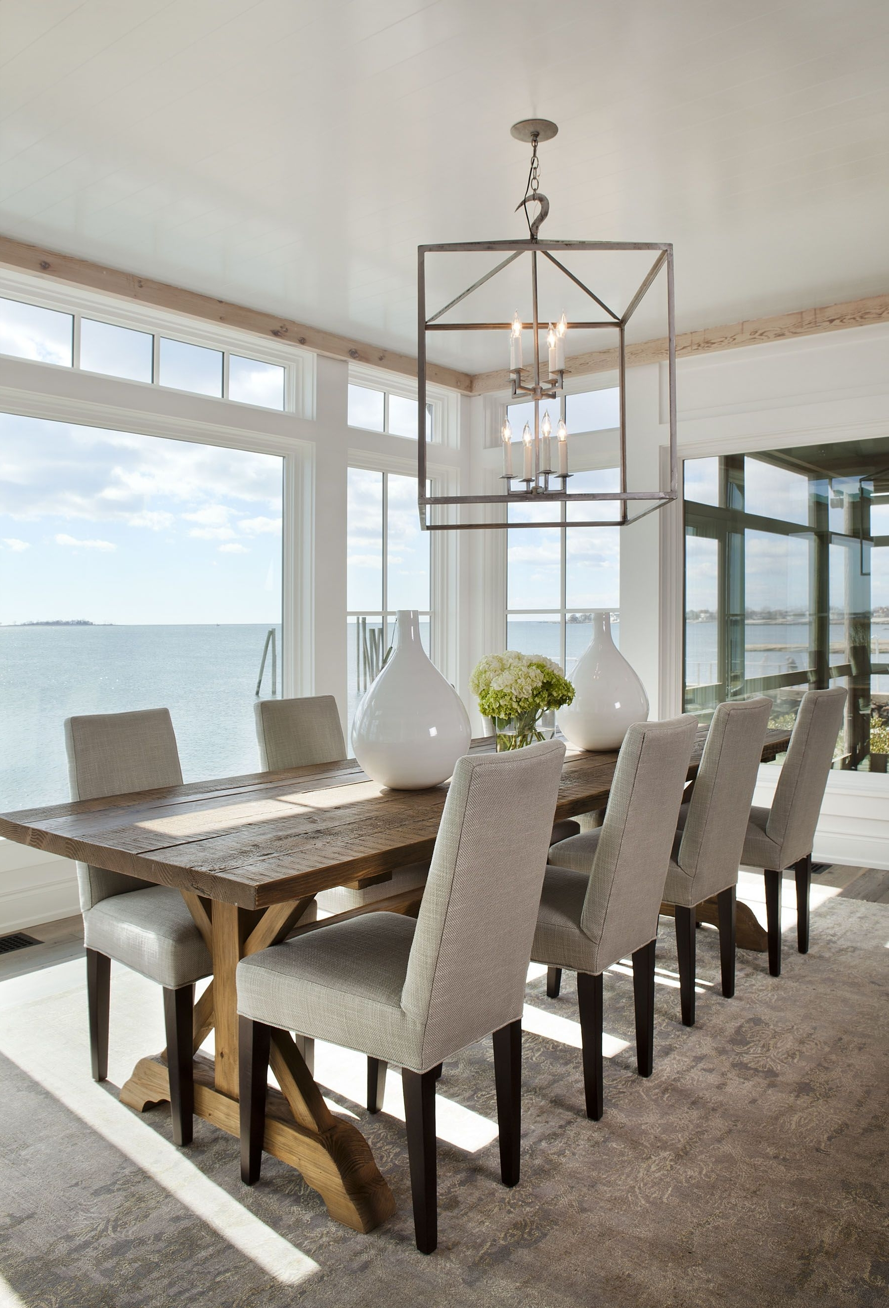 I Like The Large Table, The Chairs And The Overall Modern, Clean And pertaining to Favorite Long Dining Tables