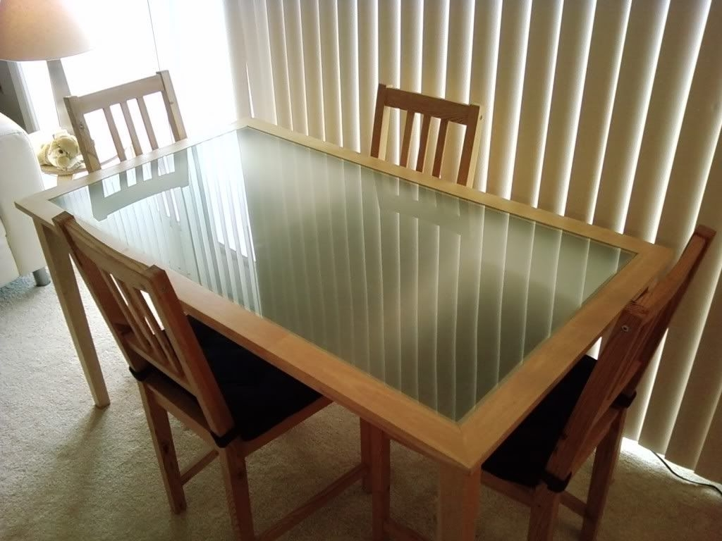 Ikea Glass Top Dining Table (View 9 of 25)